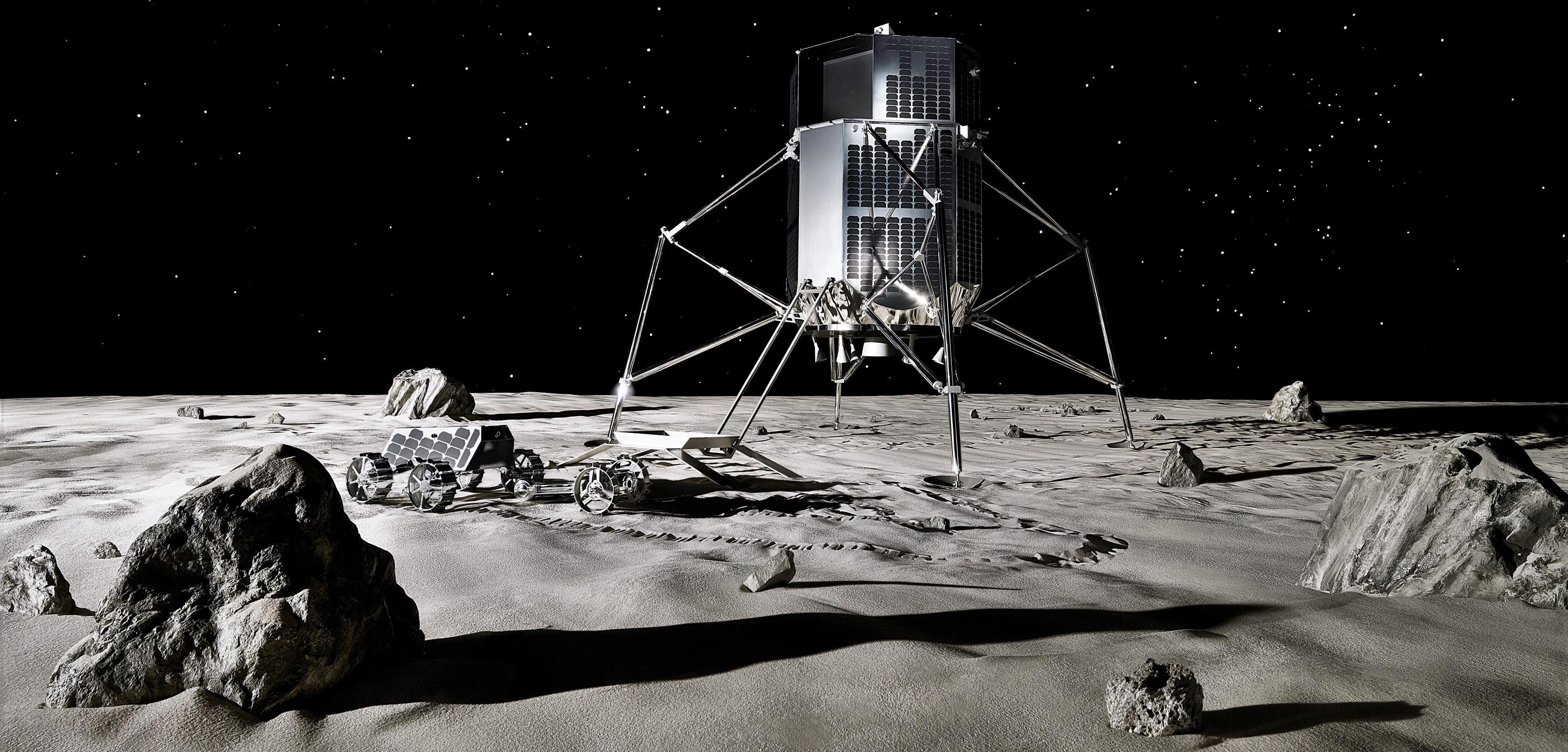 Hakuto-R lander and rover (iSpace) 4 edit