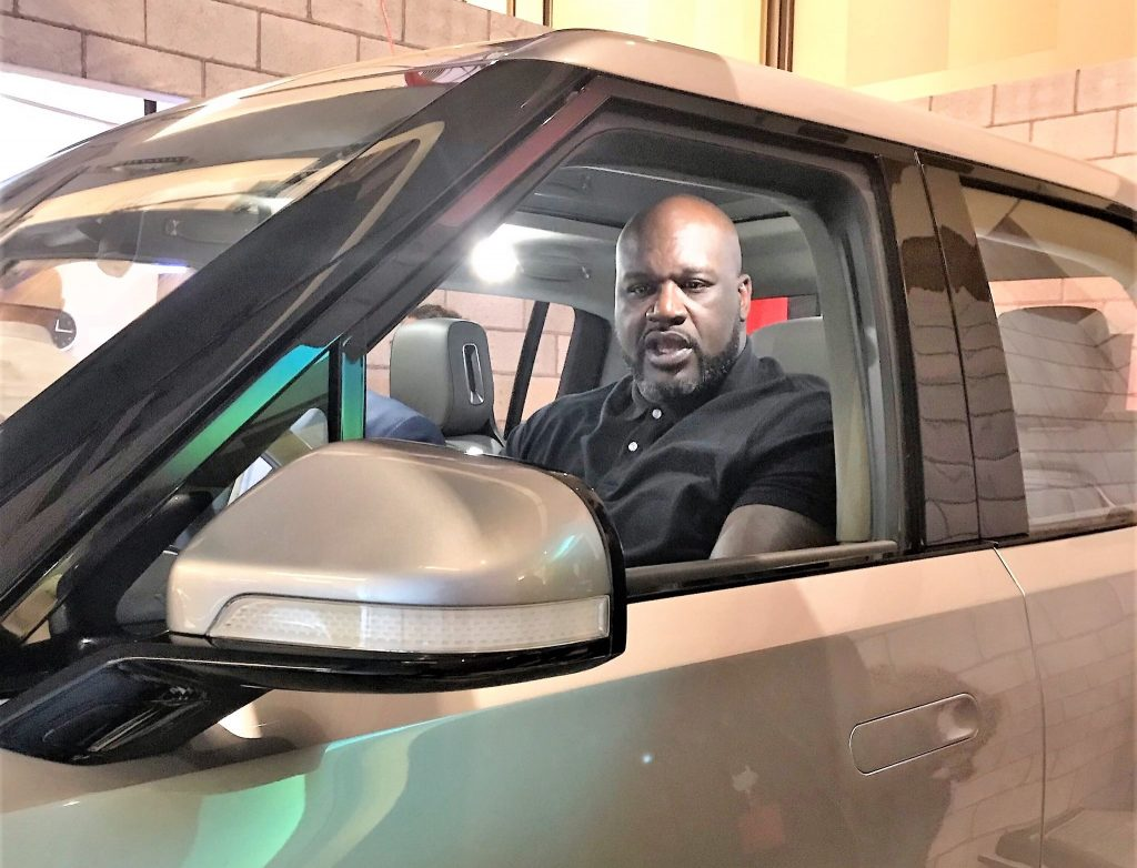 Rivian's celebrity appeal expands to Shaq, showing 'big' electric adventure is for anyone