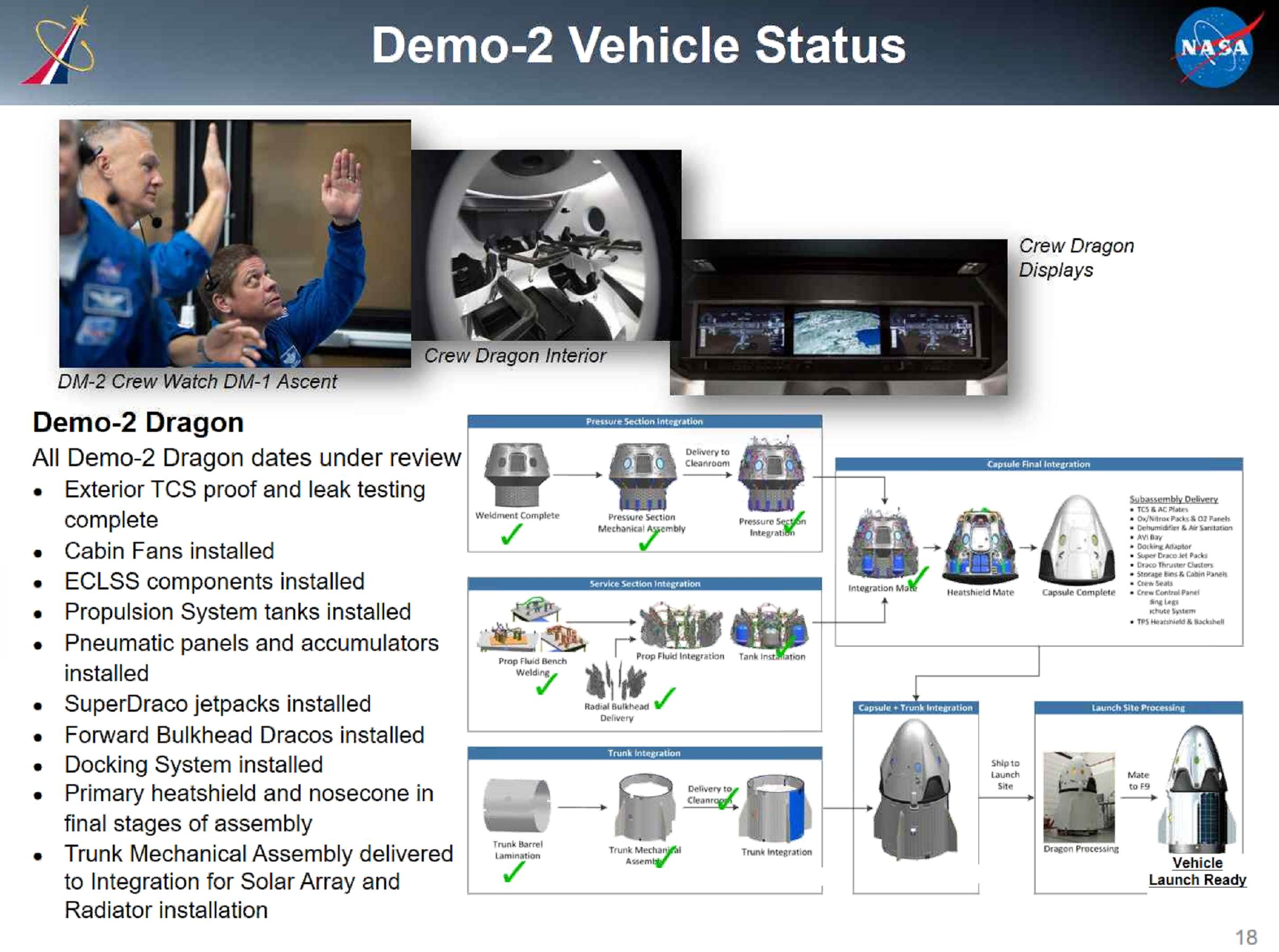 SpaceX DM-2 status Q2 2019 (NASA NAC) 1