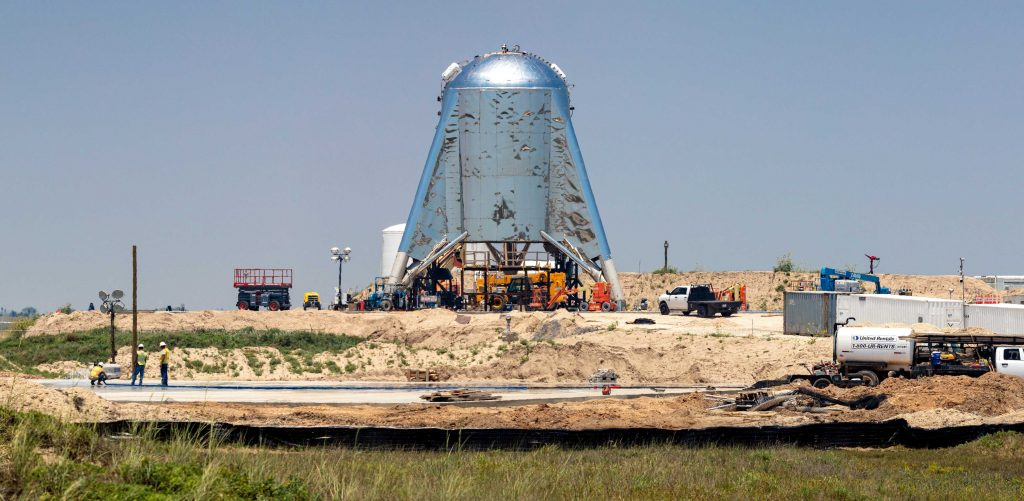 SpaceX CEO Elon Musk & Raptor engine make surprise visit to Florida Starship