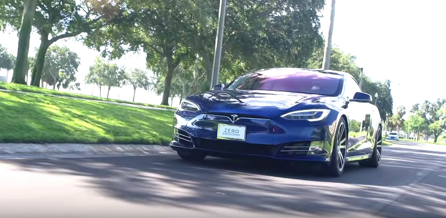 Tesla Model S P100D up for grabs in Dream Giveaway's first EV prize