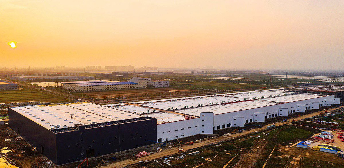 Tesla S China Factory Stuns In Sunset Shoot As Rumors Of