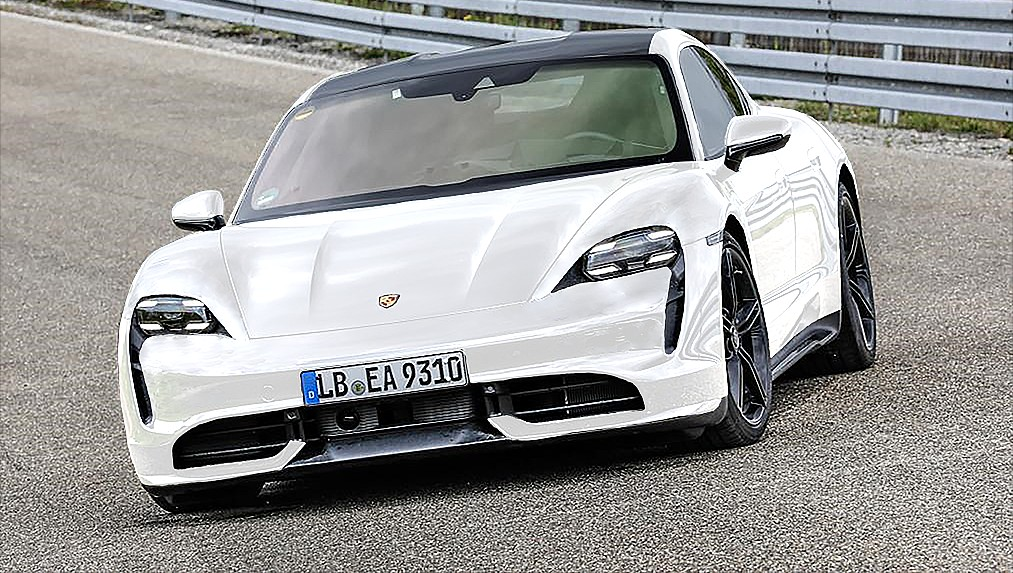 Porsche Taycan Turbo specs: 96 kWh battery, 600+ hp, air suspension, and repeatable peak performance