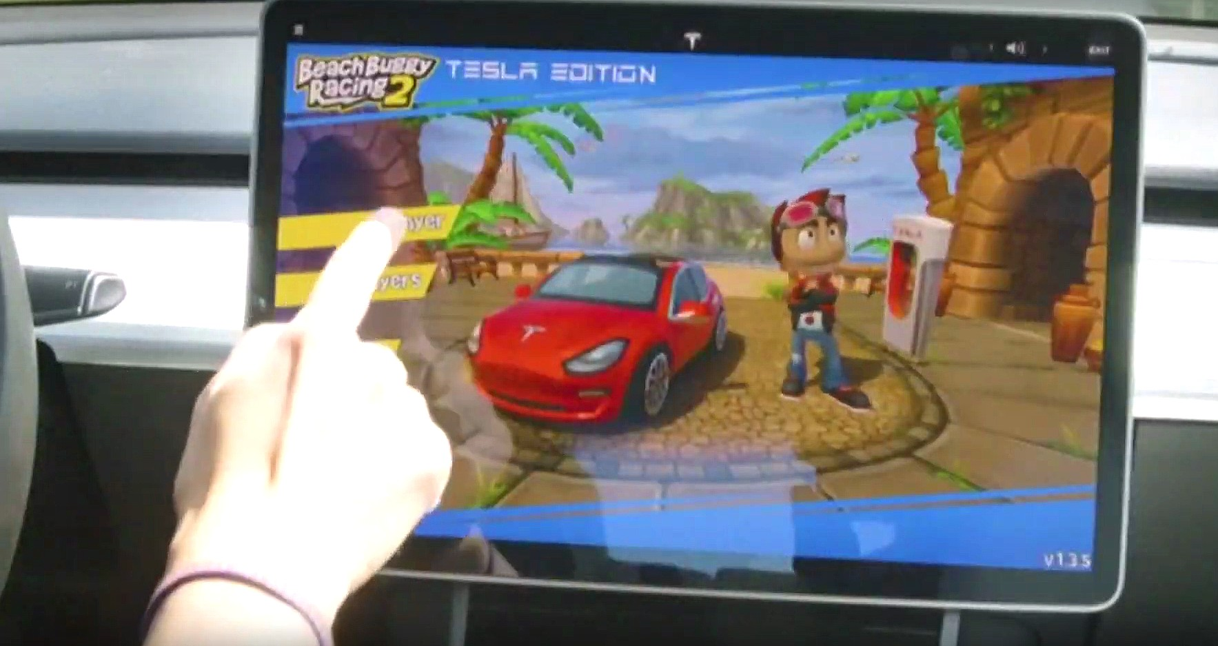 Tesla S Elon Musk Previews New Racing Games Coming To Cars At E3