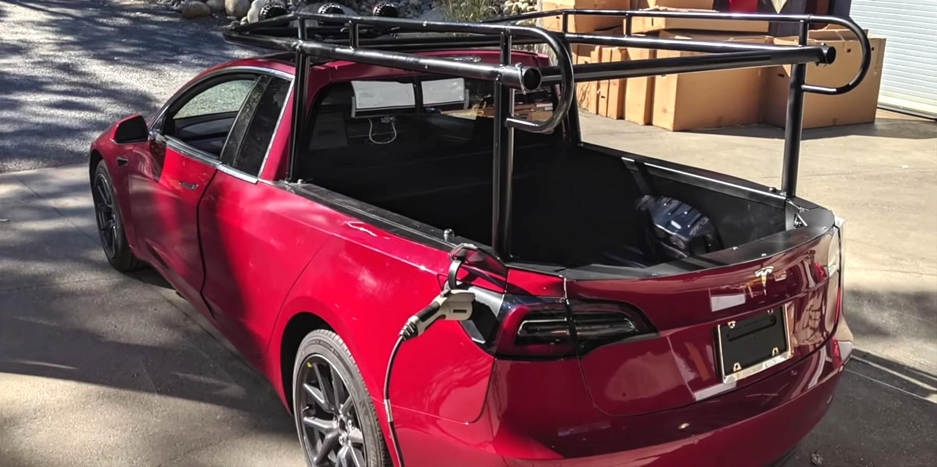Making Of Tesla Truckla Pickup Truck Behind The Scenes