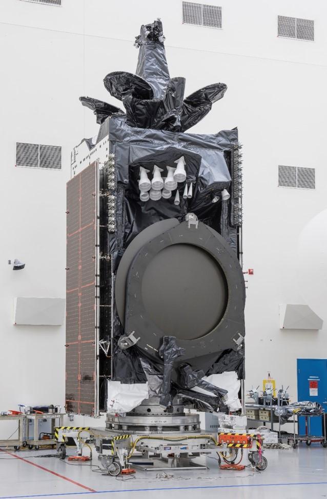 Amos 17 satellite processing (Boeing) 3