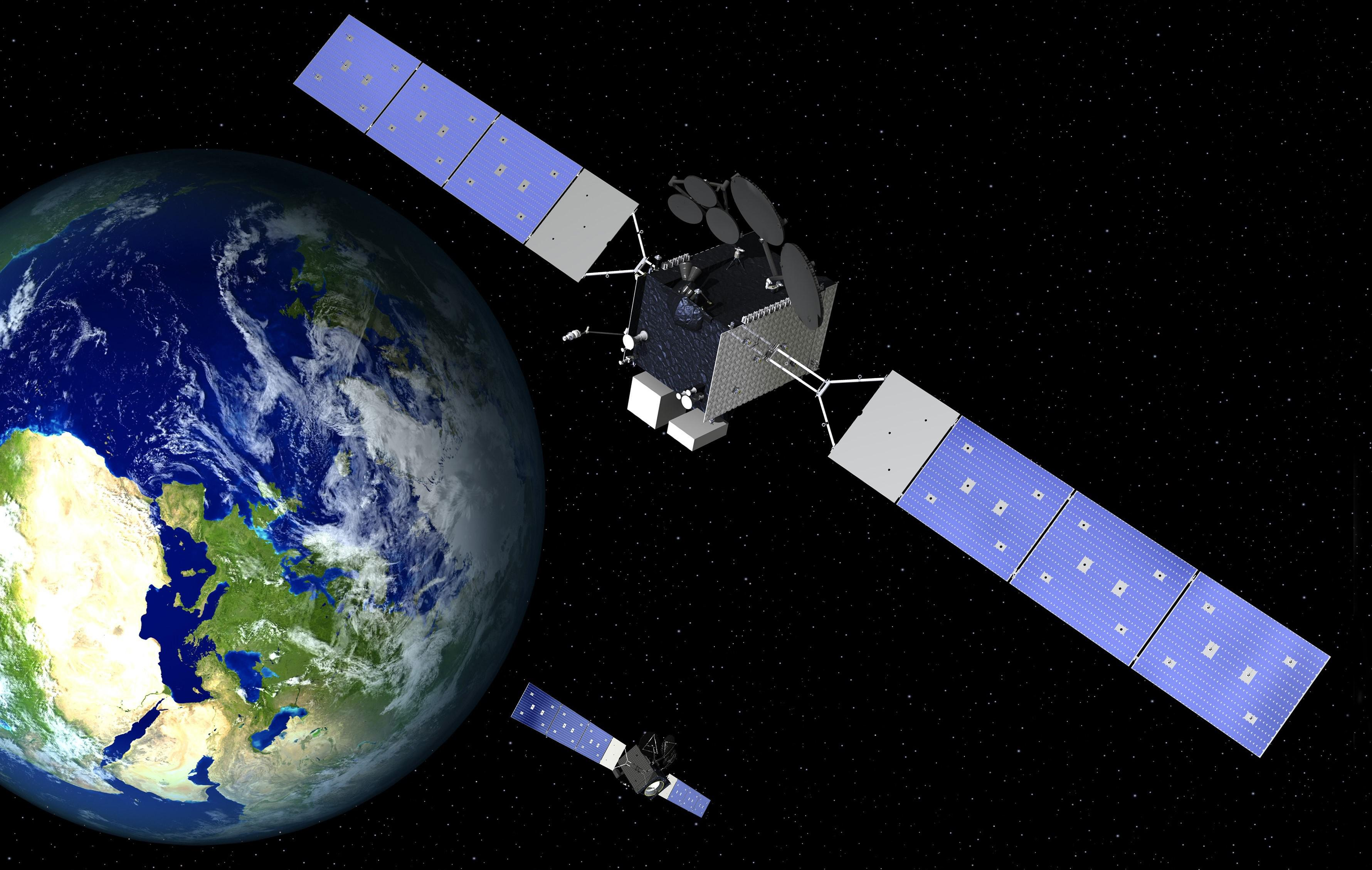Arctic Satellite Broadband Mission ASBM satellites (Northrop Grumman) 1