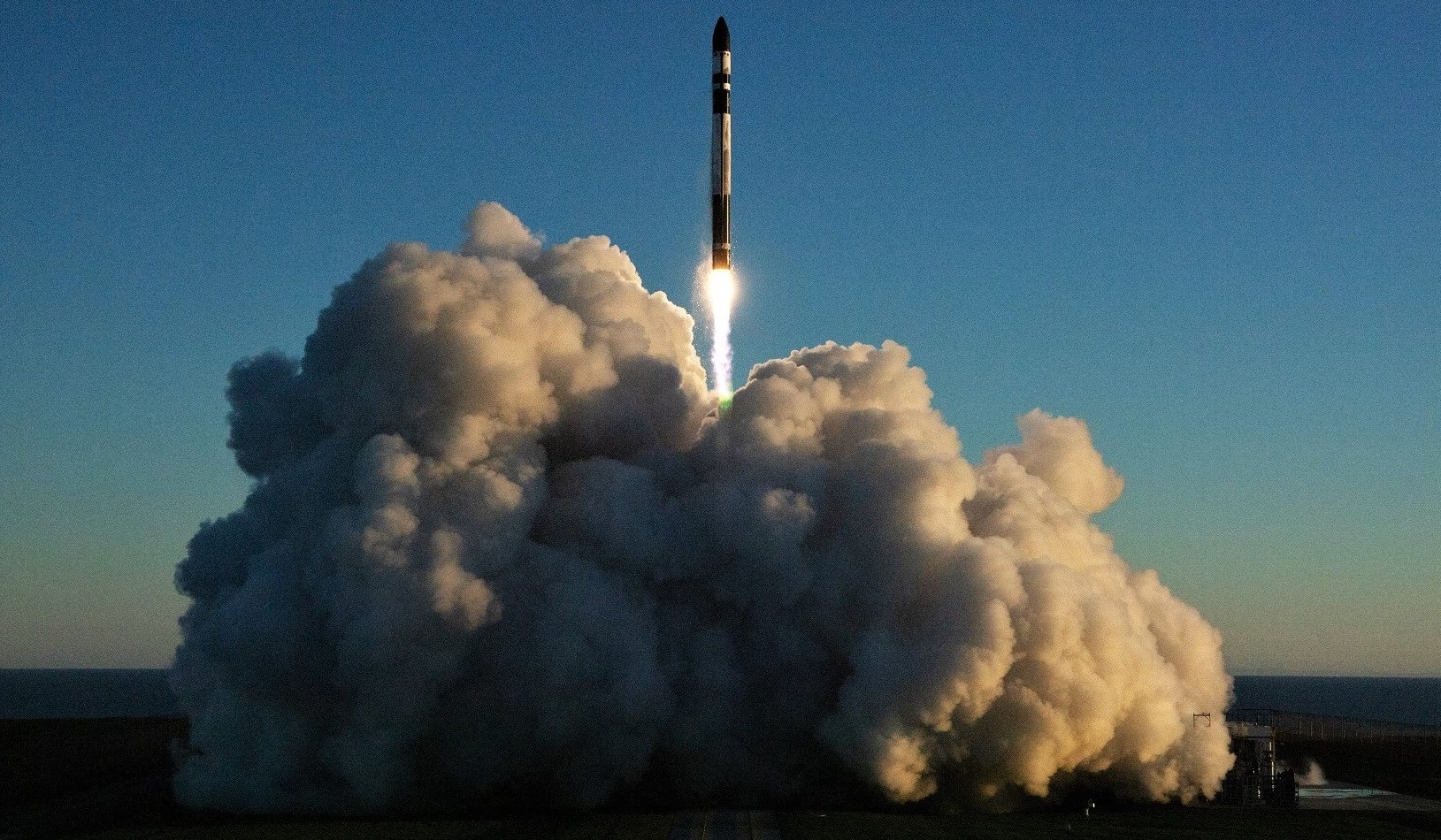 Electron Flight 7 062819 (Rocket Lab) liftoff remote 1 crop