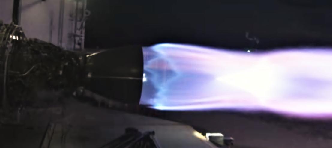 Raptor SN06 McGregor testing 070619 (SpaceX) 1 crop