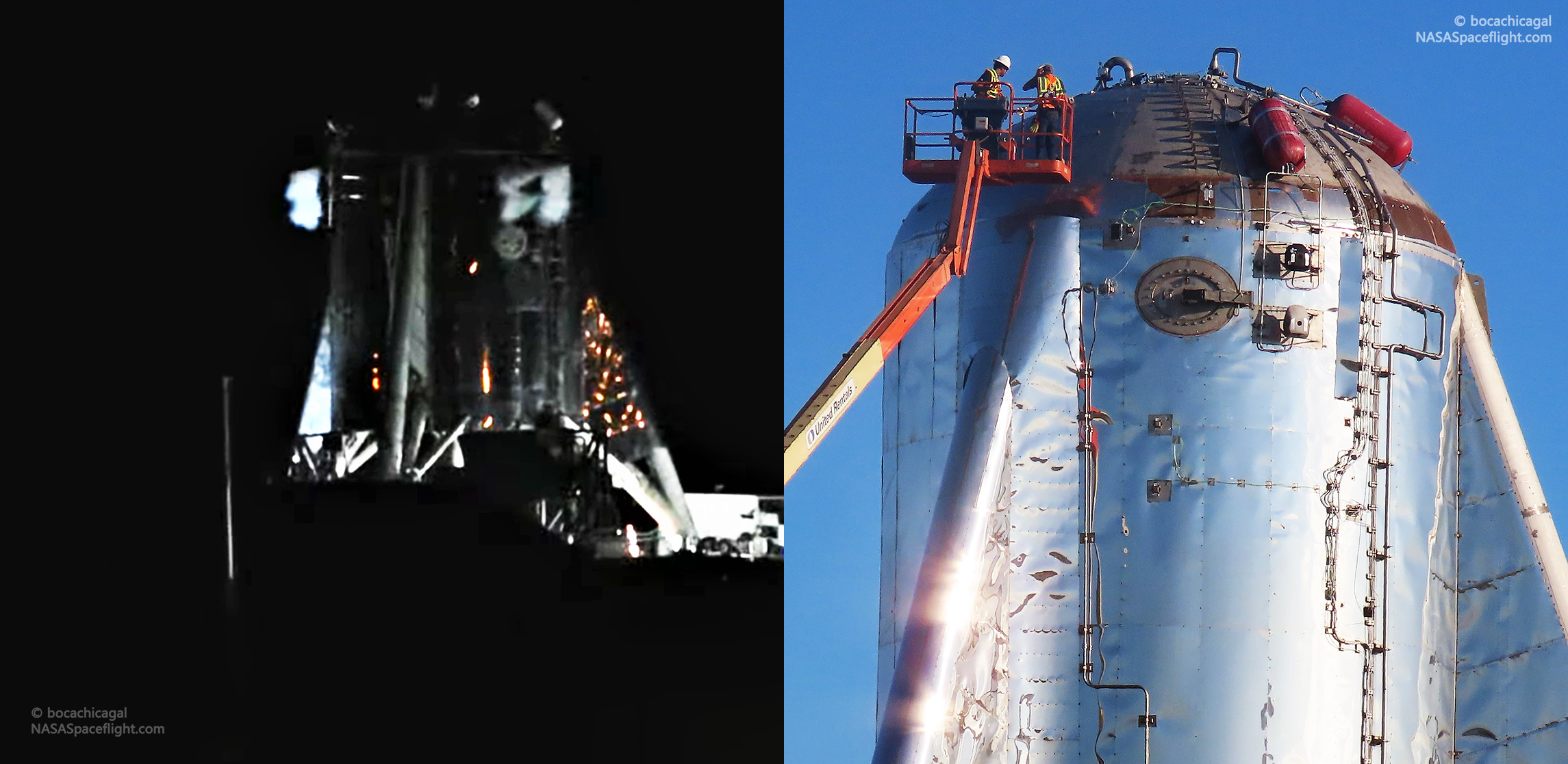 Spacex Tests Starhopper S Maneuvering Thrusters Ahead Of