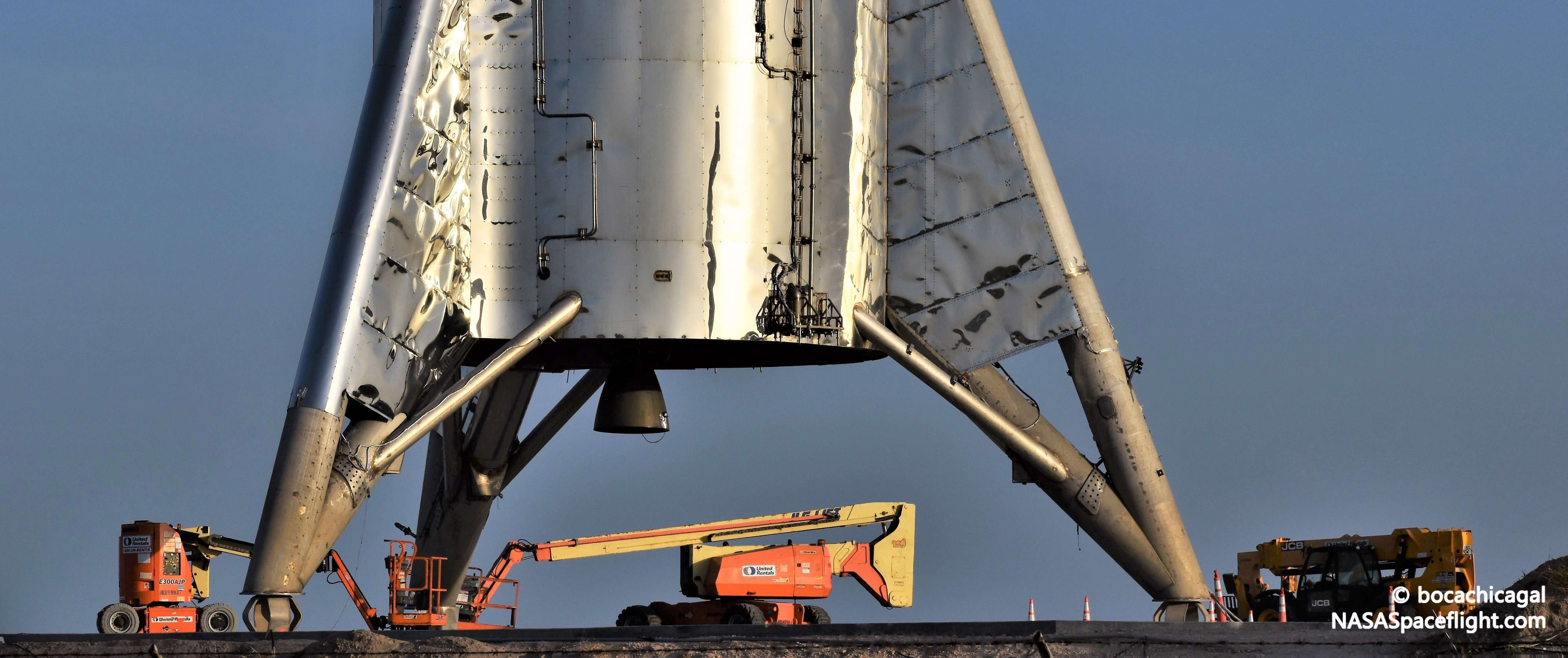 Spacex Moves Starhopper Back To Launch Pad Puts 200m Hop