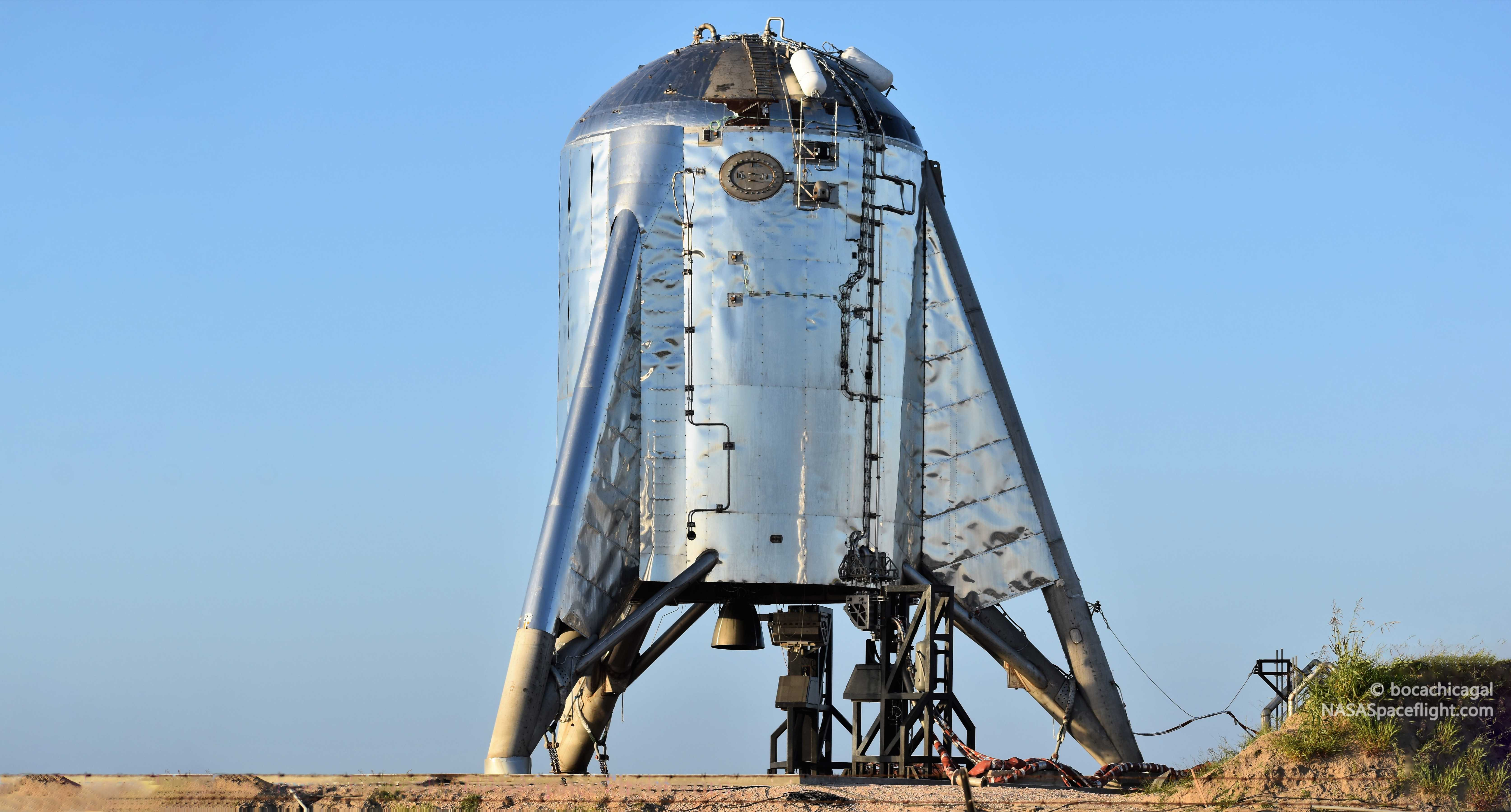 Starhopper Update Spacex S Ungainly Starship Testbed