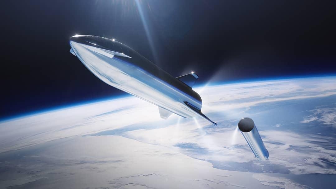 Starship Super Heavy steel render 2019 (SpaceX) 1
