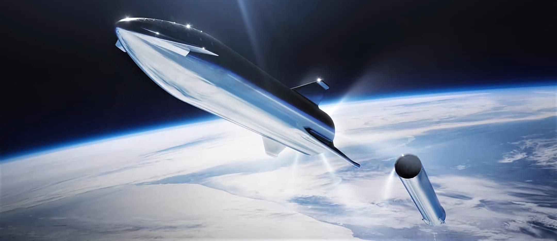 Starship Super Heavy steel render 2019 (SpaceX) 2X 1 crop