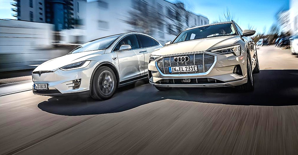 Audi explains the e-tron's low range, highlights safety and long-term durability