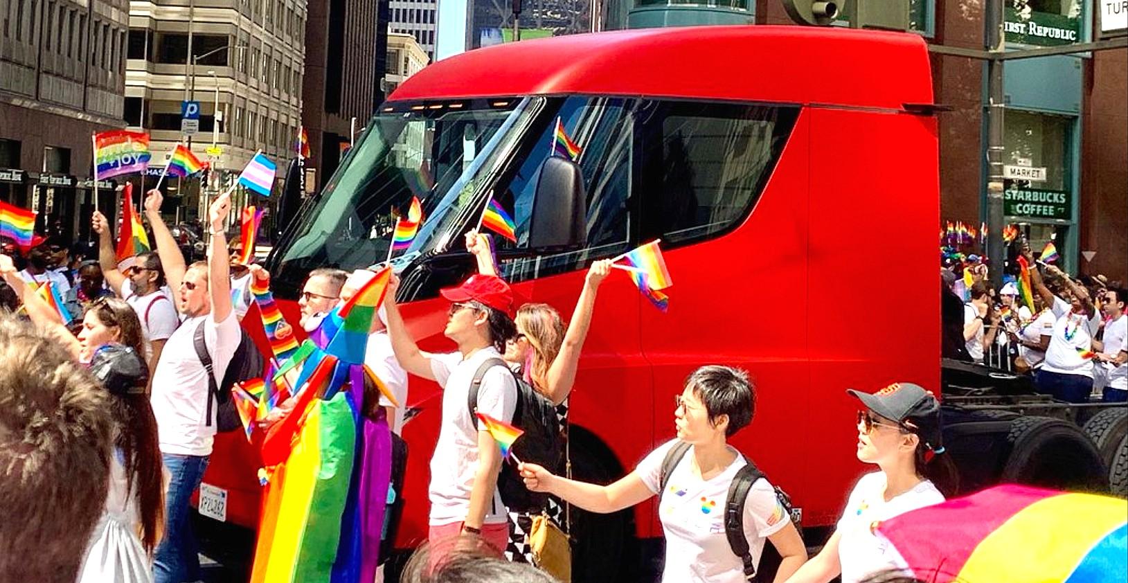 tesla-semi-pride-parade