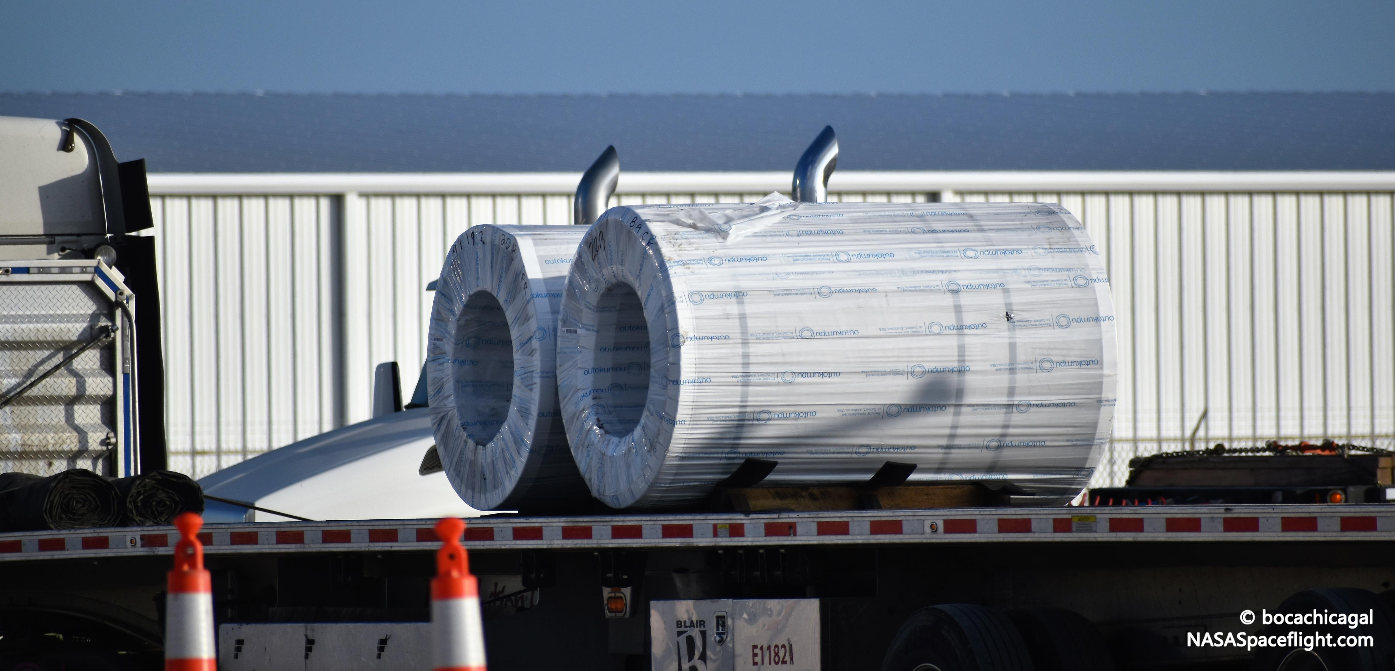 Boca Chica orbital Starship 081219 (NASASpaceflight – bocachicagal) steel delivery 1 (c)
