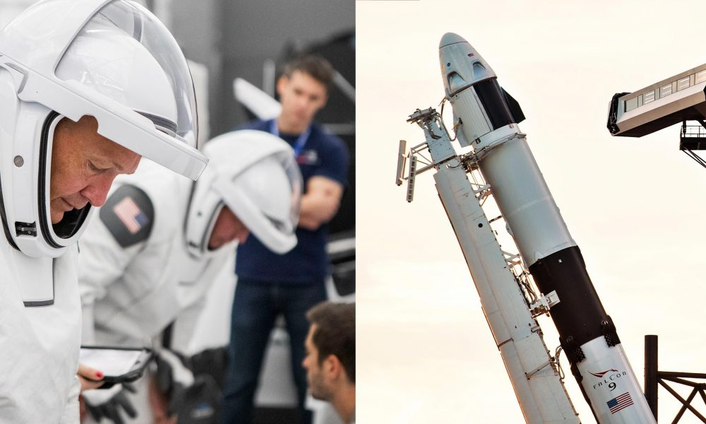 SpaceX's first Crew Dragon NASA astronauts fit for space-focused