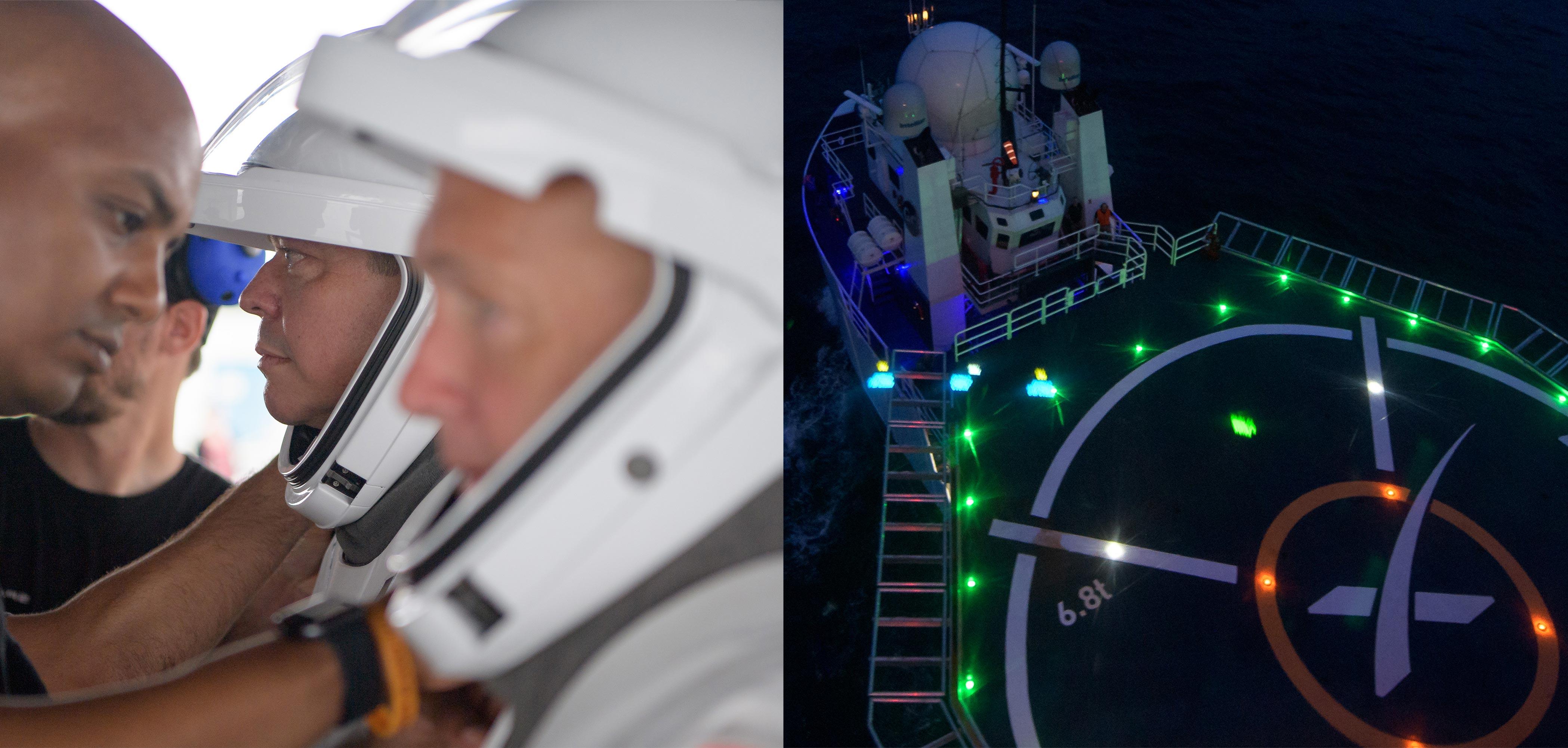 Crew Dragon recovery rehearsals 081319 081519 (NASA) 1