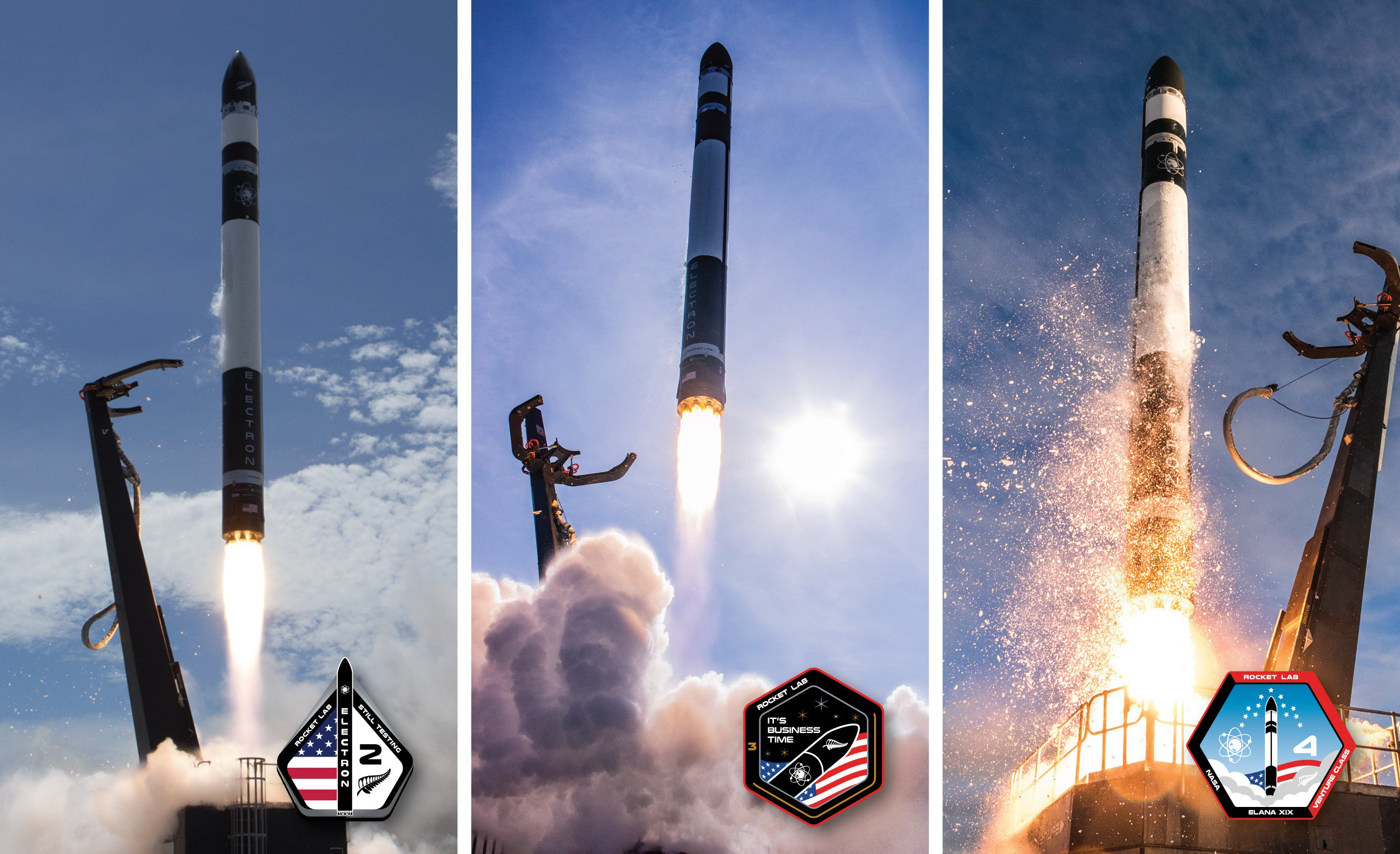 Electron orbital launch successes (Rocket Lab)