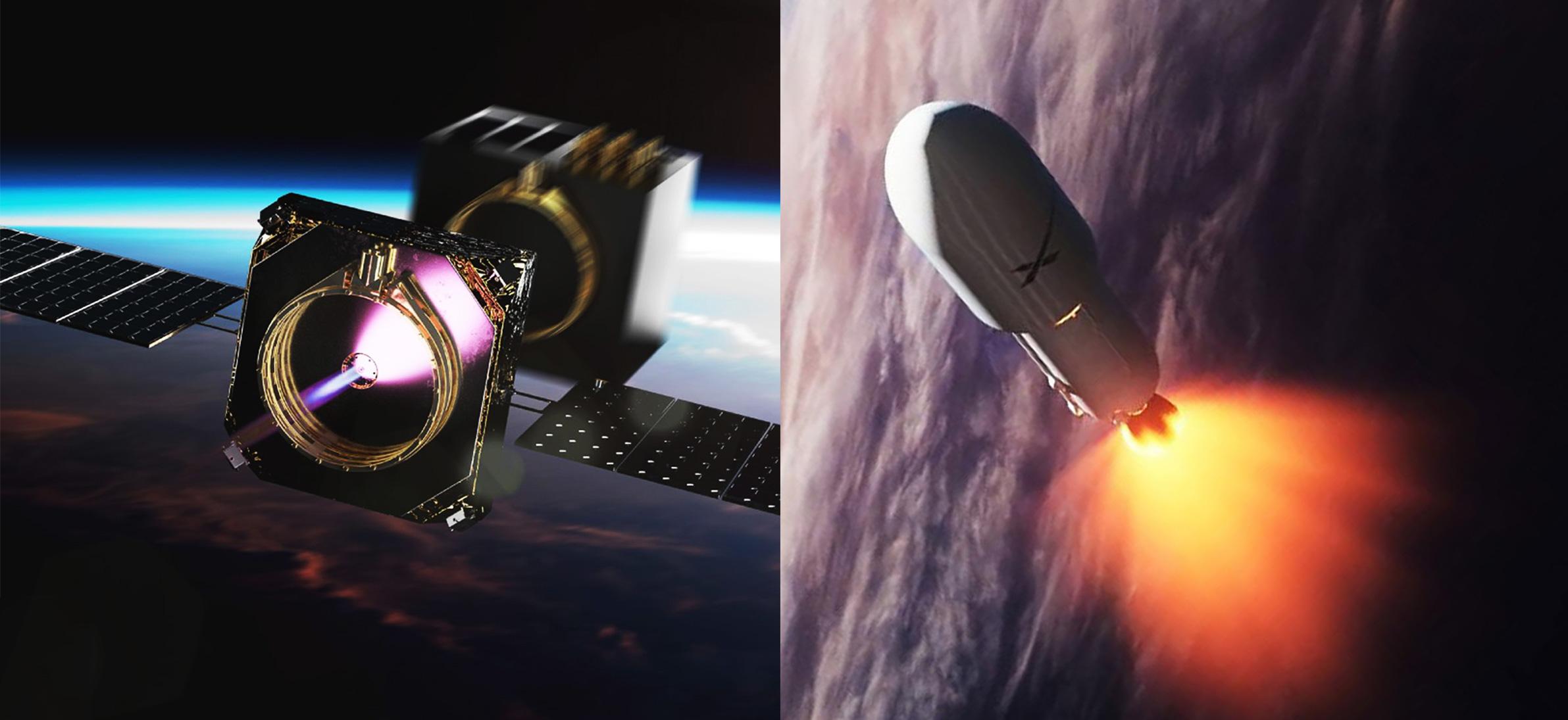 Falcon 9 smallsat rideshare & Momentus Vigoride (SpaceX – Momentus) 1