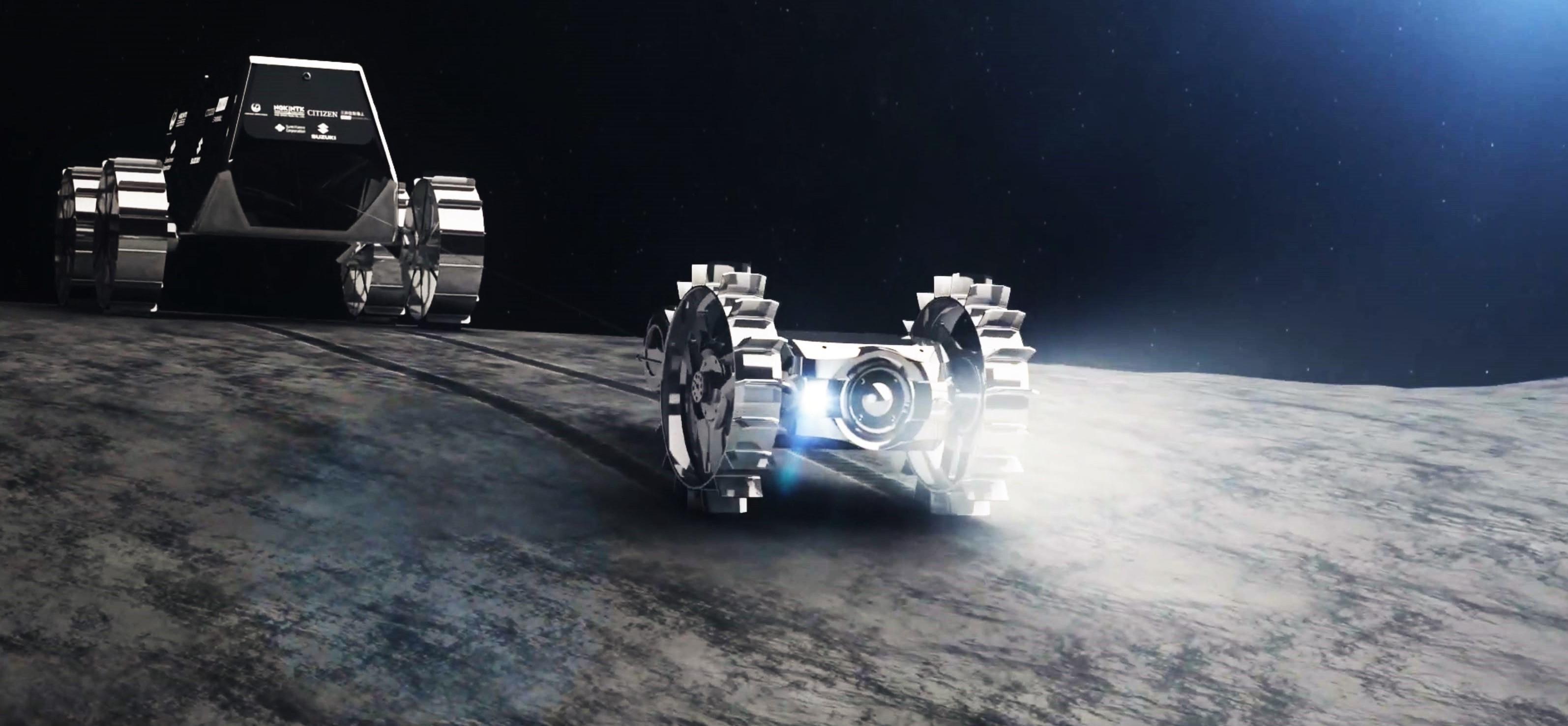Hakuto-R Moon rover render (iSpace) 2
