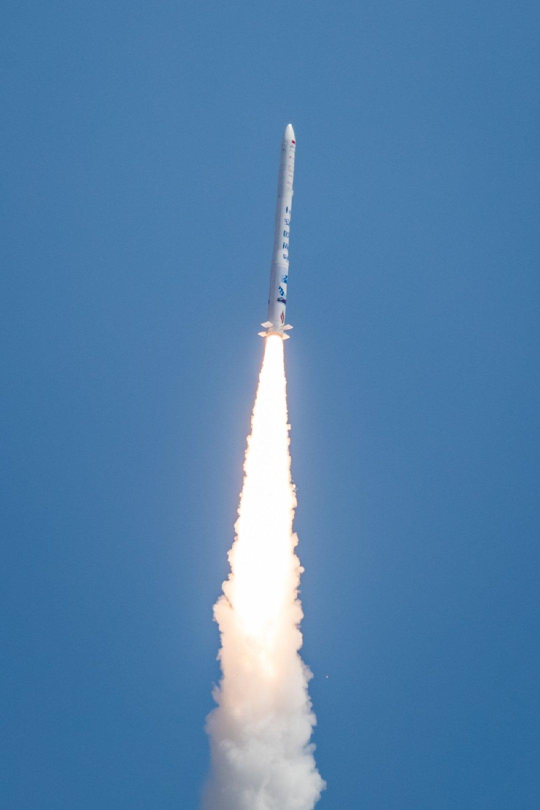 Hyperbola 1 orbital launch success 072519 (iSpace) 4