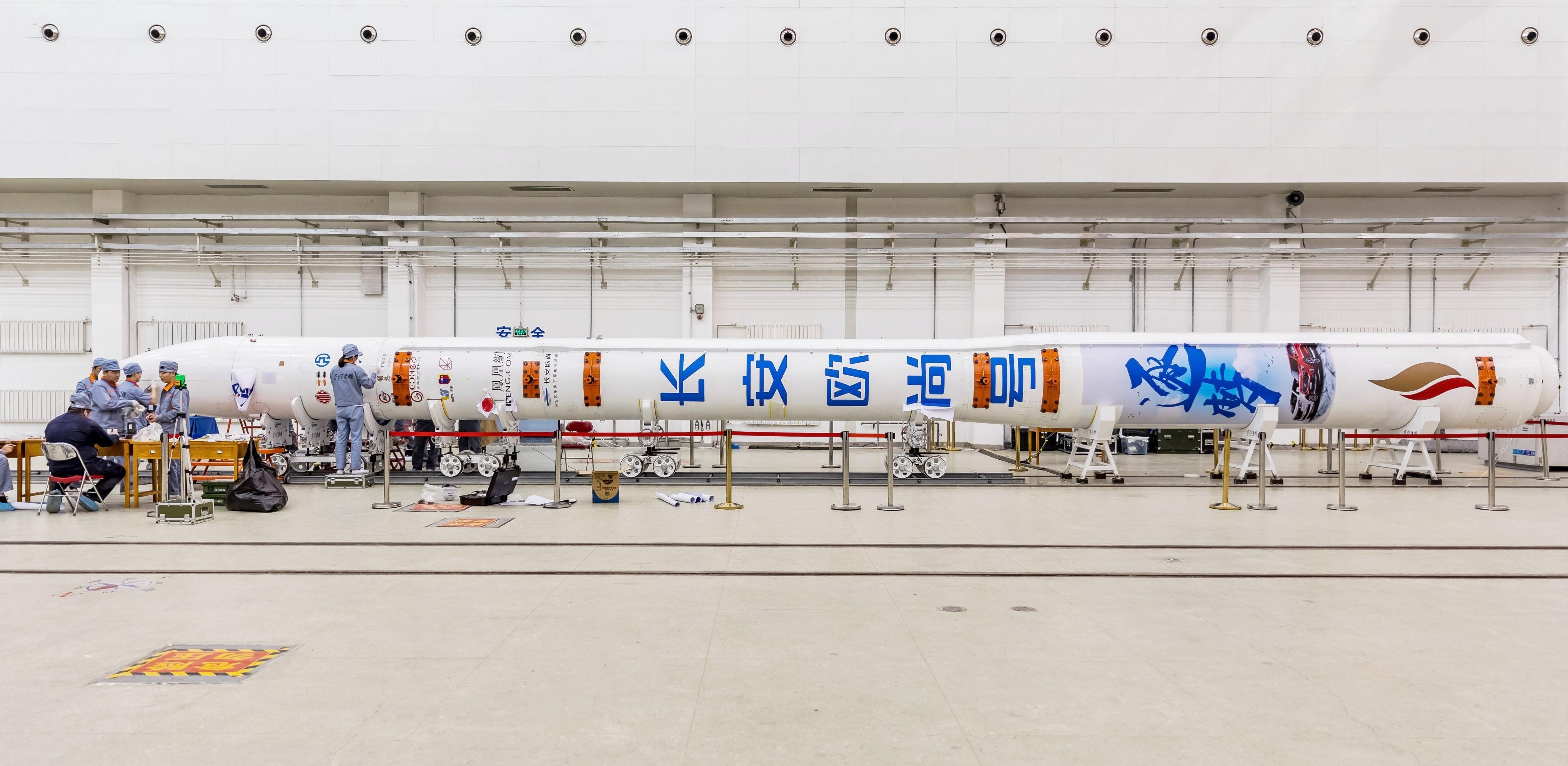 Hyperbola 1 orbital launch success 072519 (iSpace) prelaunch 4