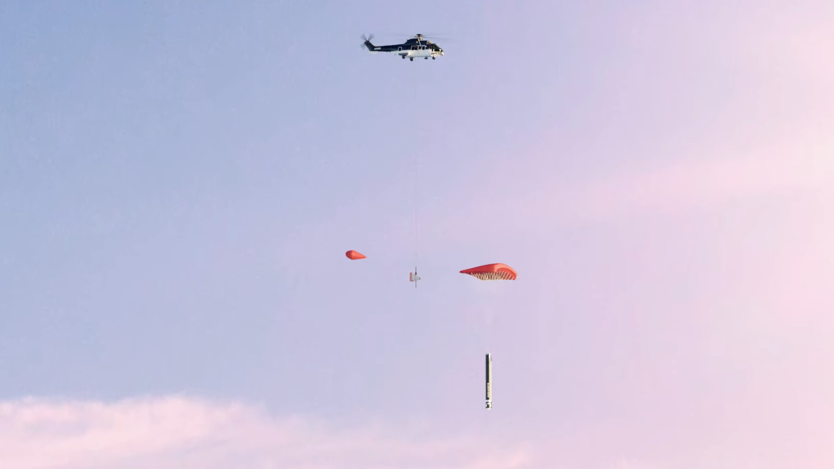 RocketLab Reuse Helicopter