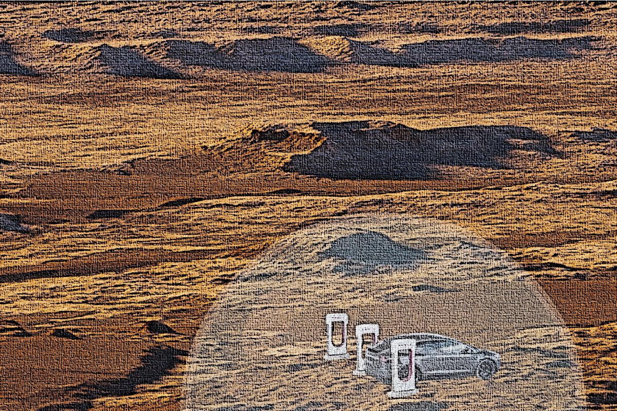 Tesla-Supercharger-Mars