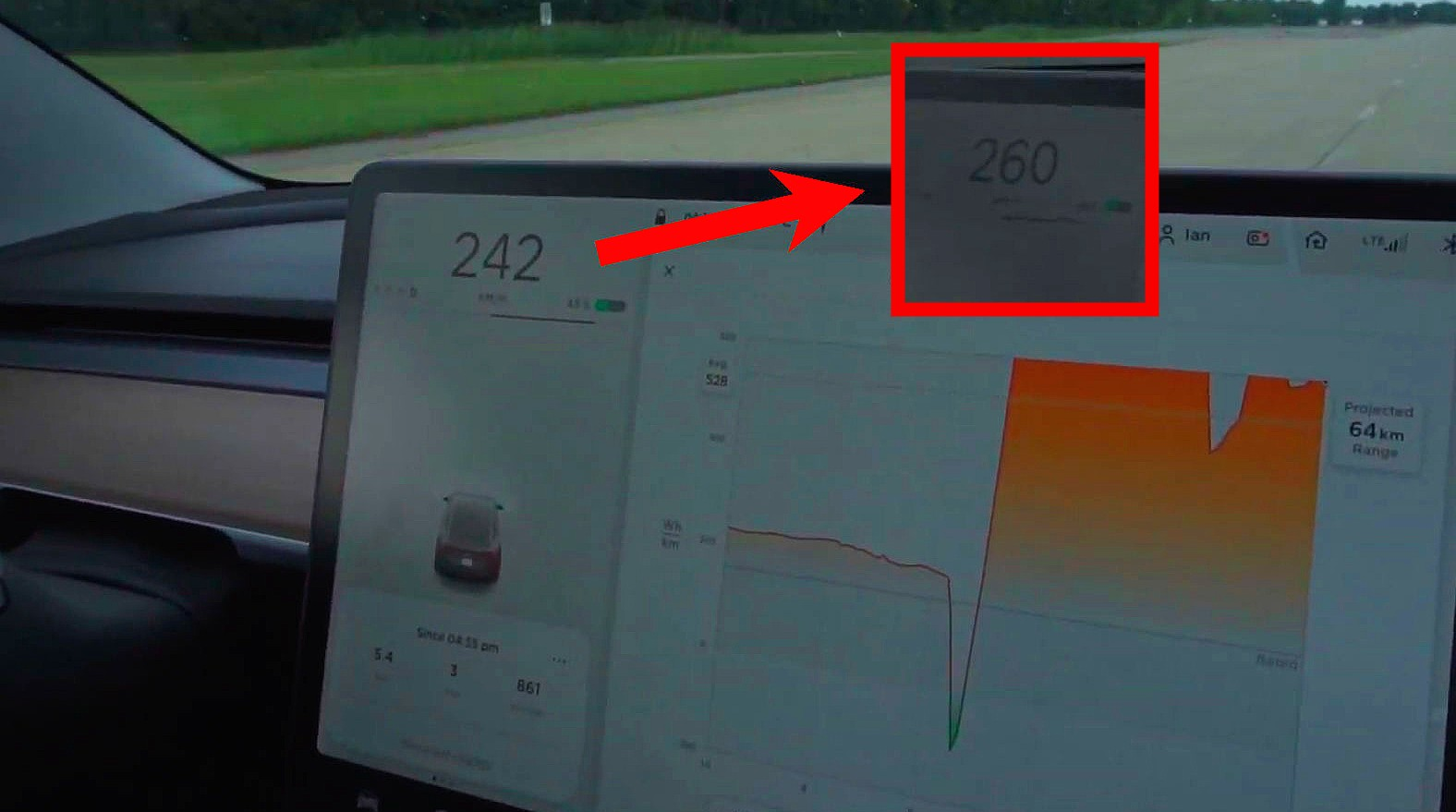 tesla model 3 performance hits 161 5 mph in high speed. Black Bedroom Furniture Sets. Home Design Ideas