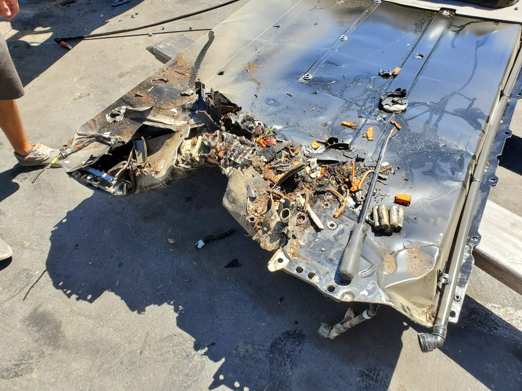 Tesla Model 3 batteries show impressive fire resistance
