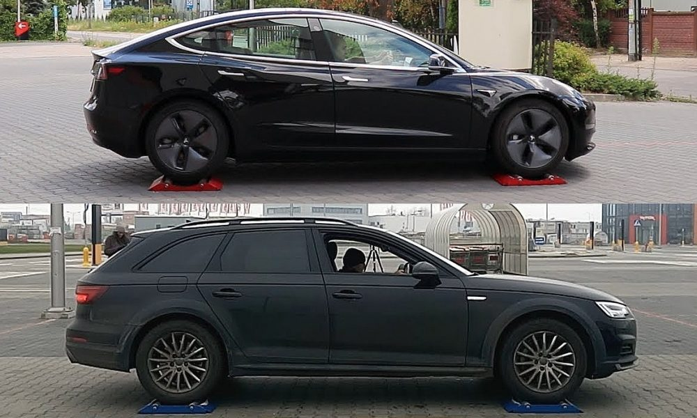 tesla 39 s dual motor awd tech takes on audi 39 s quattro system. Black Bedroom Furniture Sets. Home Design Ideas