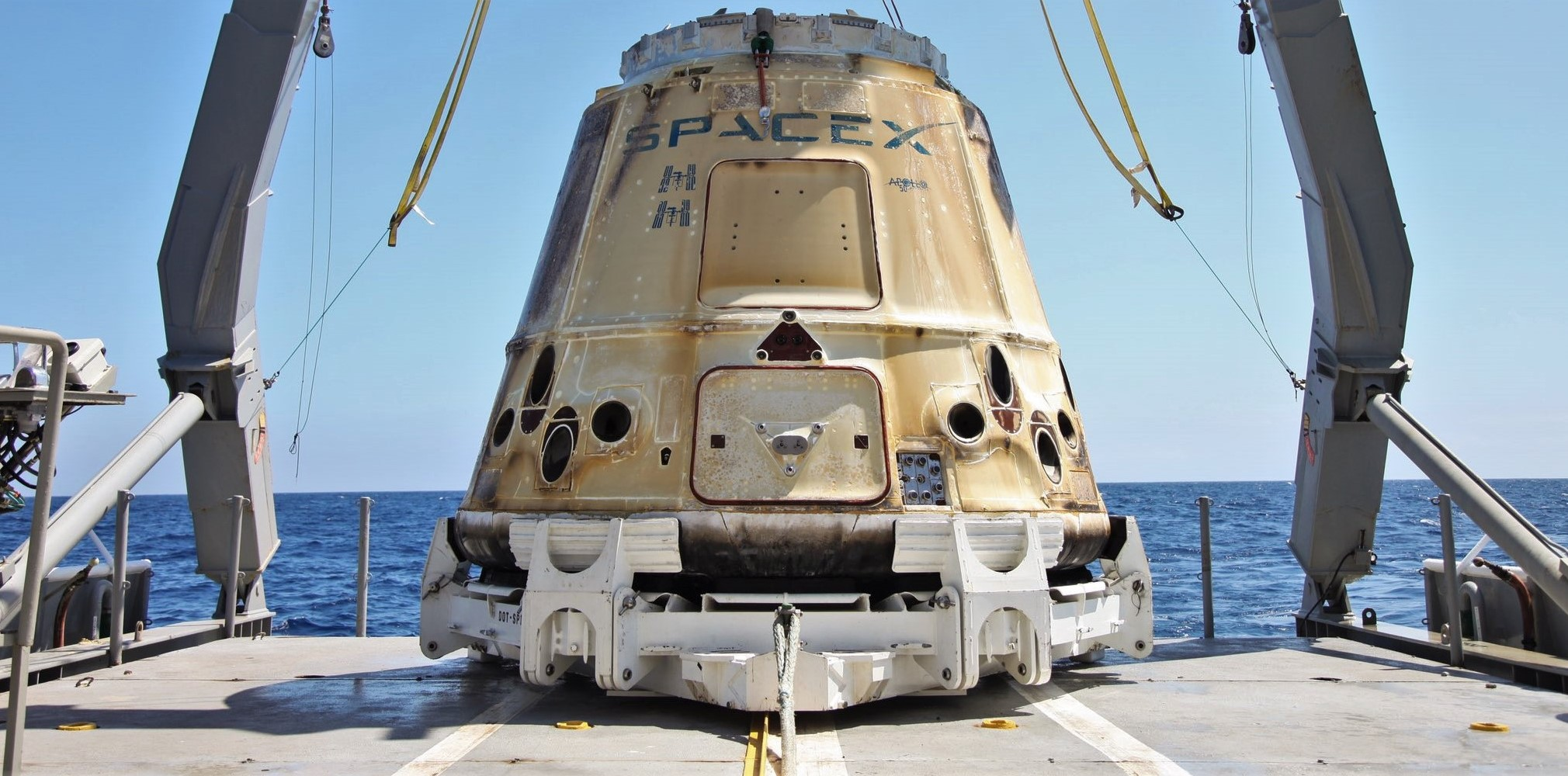 Cargo Dragon C108 CRS-18 recovery 082719 (SpaceX) 1 crop