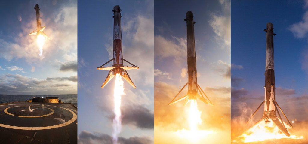 SpaceX's reusable rockets snag two more launch contracts