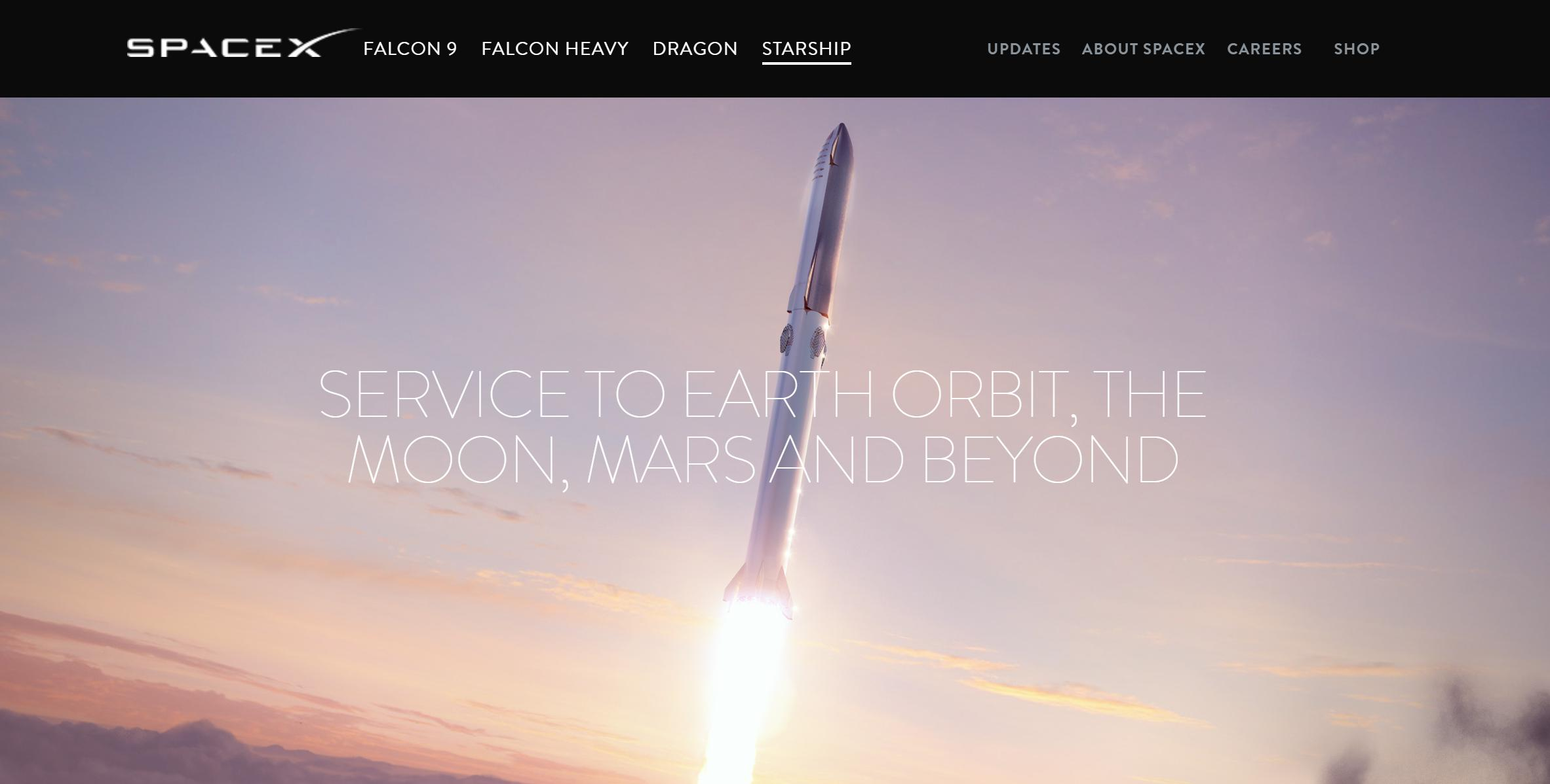 Starship website 093019 (SpaceX) 1