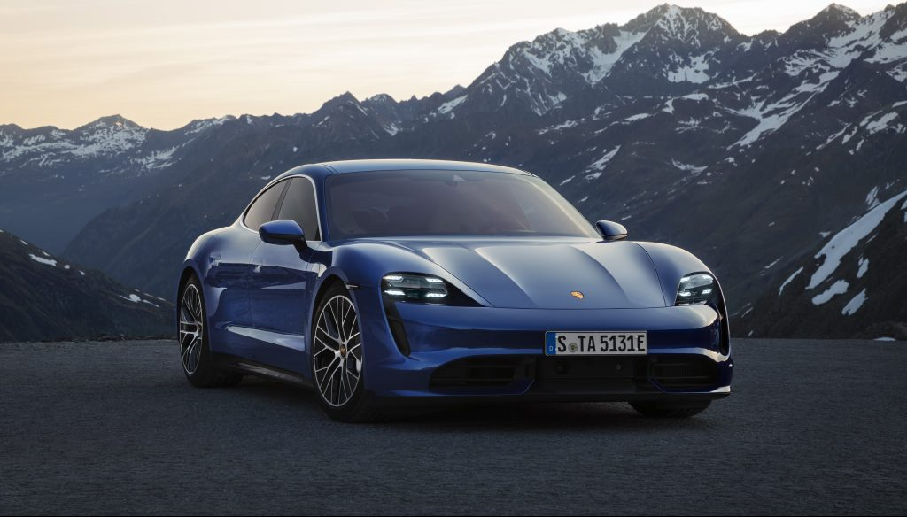 Tesla Model S Interior >> Porsche Taycan Turbo gets EPA range of 201 miles per charge