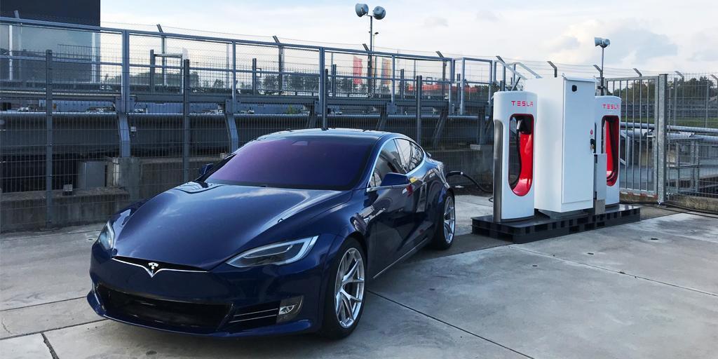 Tesla installs a Supercharger station at famed Nürburgring race circuit in Germany