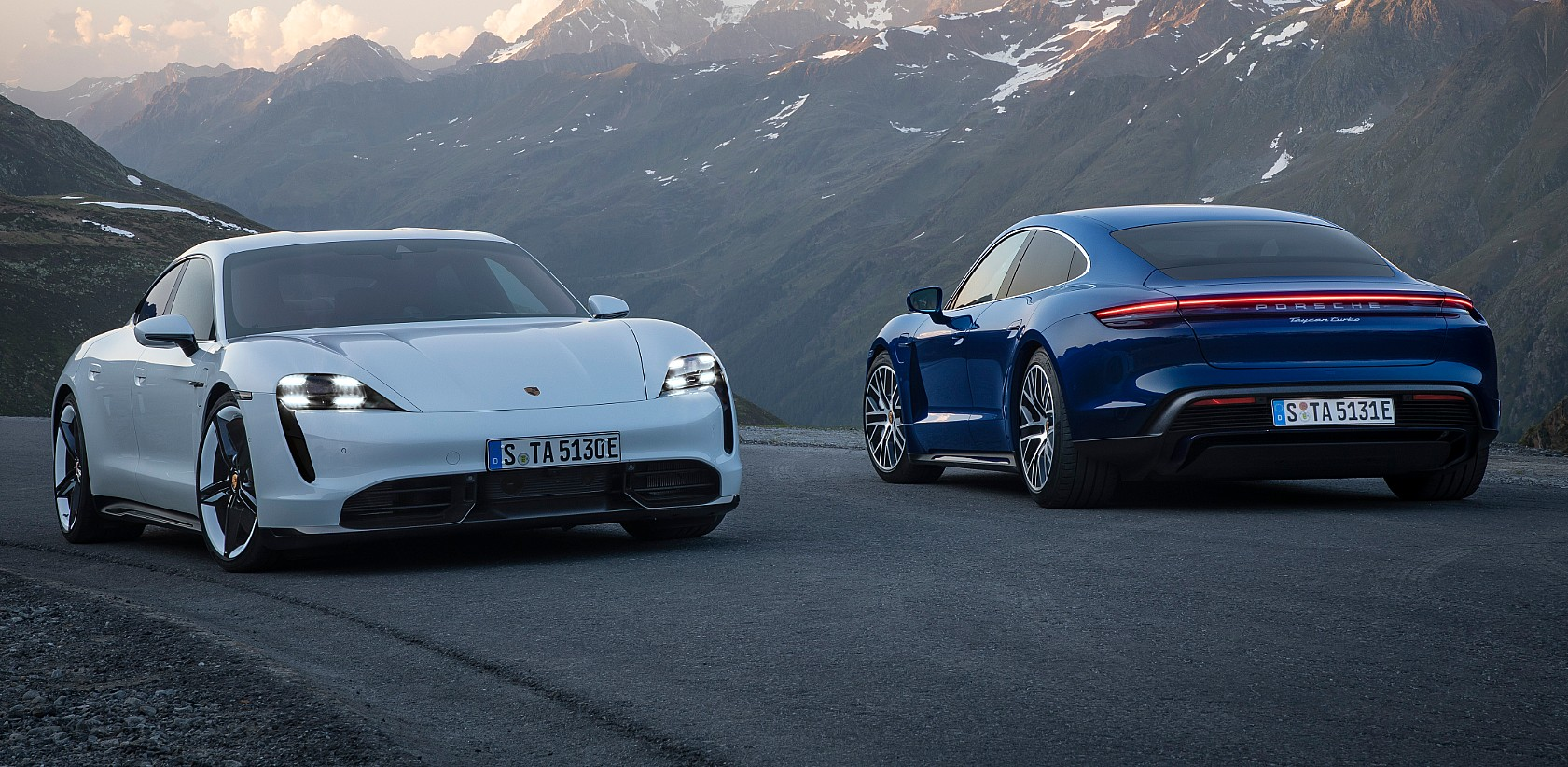 Porsche Taycan Turbo S vs. Turbo