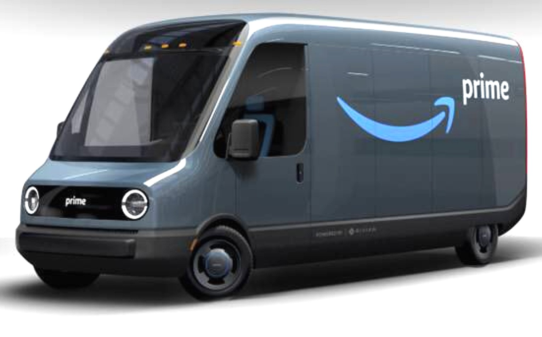 Tesla Solar Roof Order >> Jeff Bezos reveals Rivian's plans to produce electric vans for Amazon