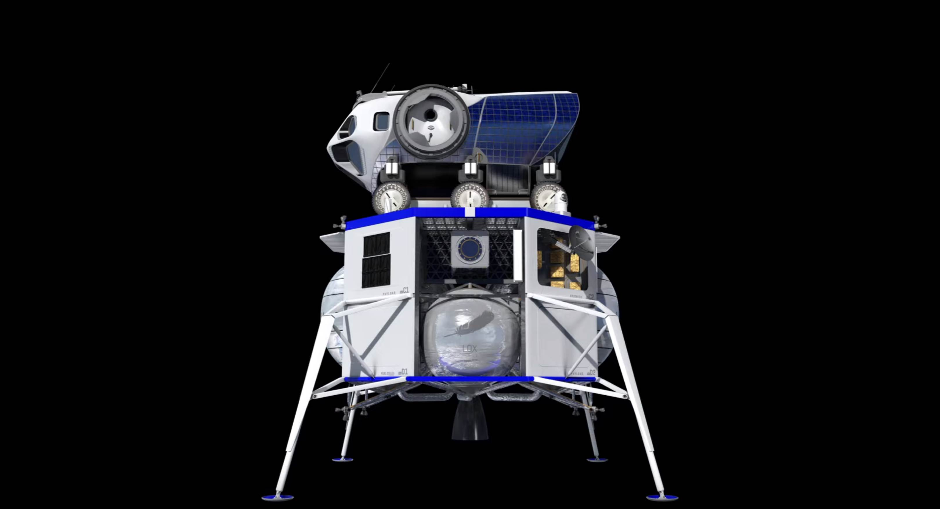 Blue Moon human rover payload (Blue Origin) 1