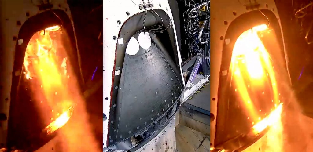 Tesla Model S Interior >> SpaceX's Crew Dragon abort test gets closer to launch with SuperDraco static fires