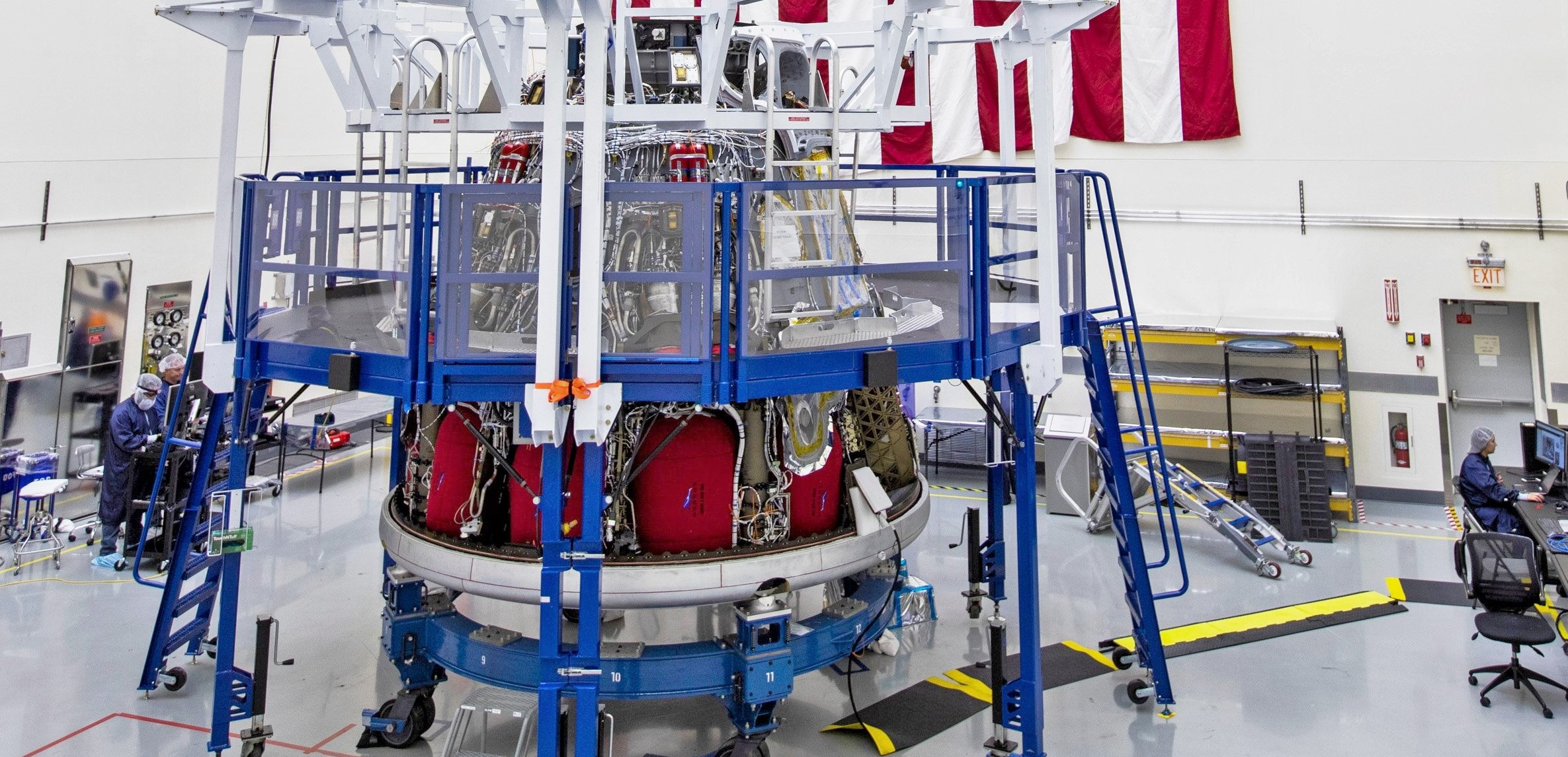 Crew Dragon capsule C205 IFA prep 100319 (SpaceX) 1 crop