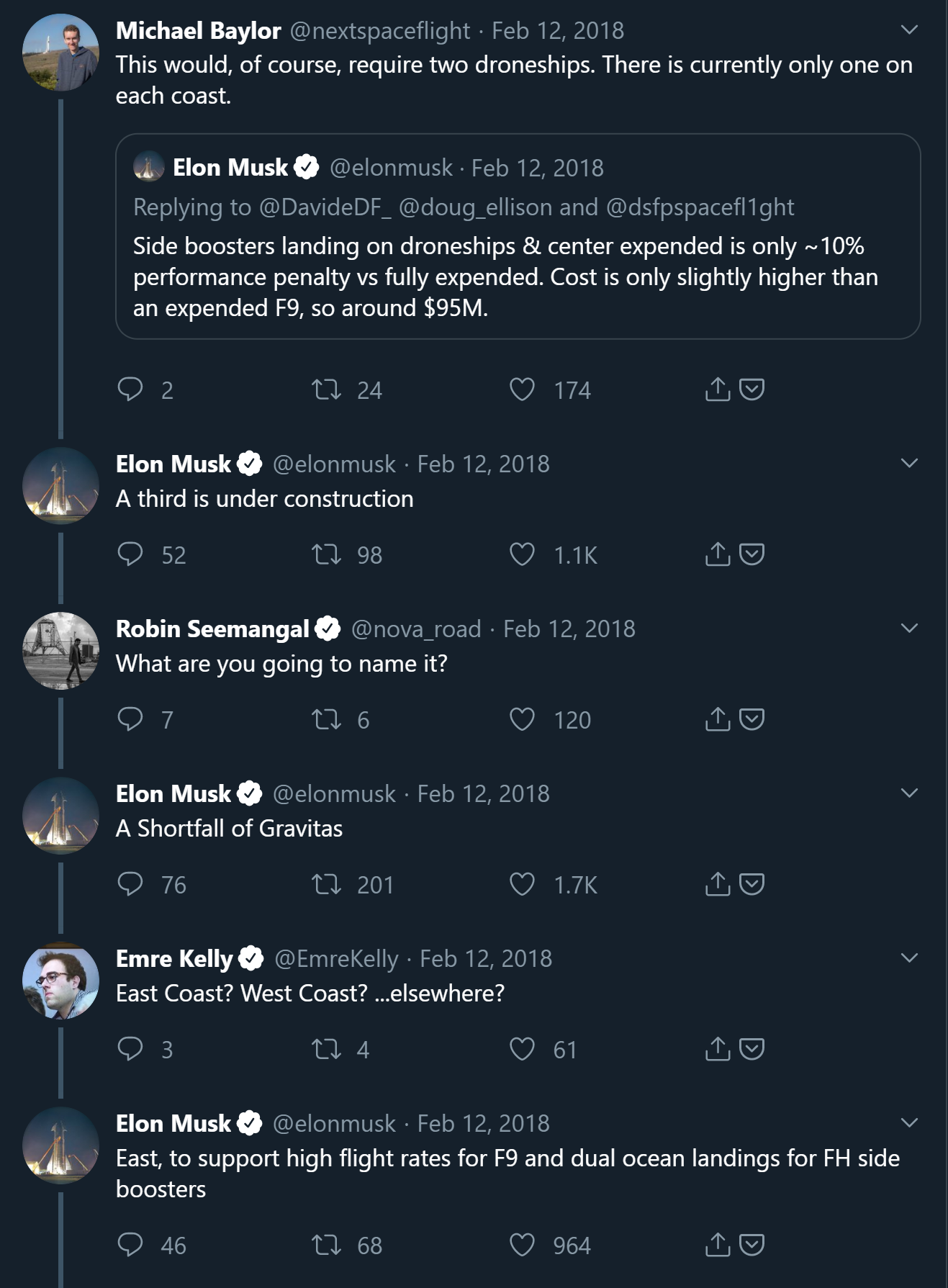 Elon Musk A Shortfall of Gravitas reveal Feb 2018 (Twitter) 1