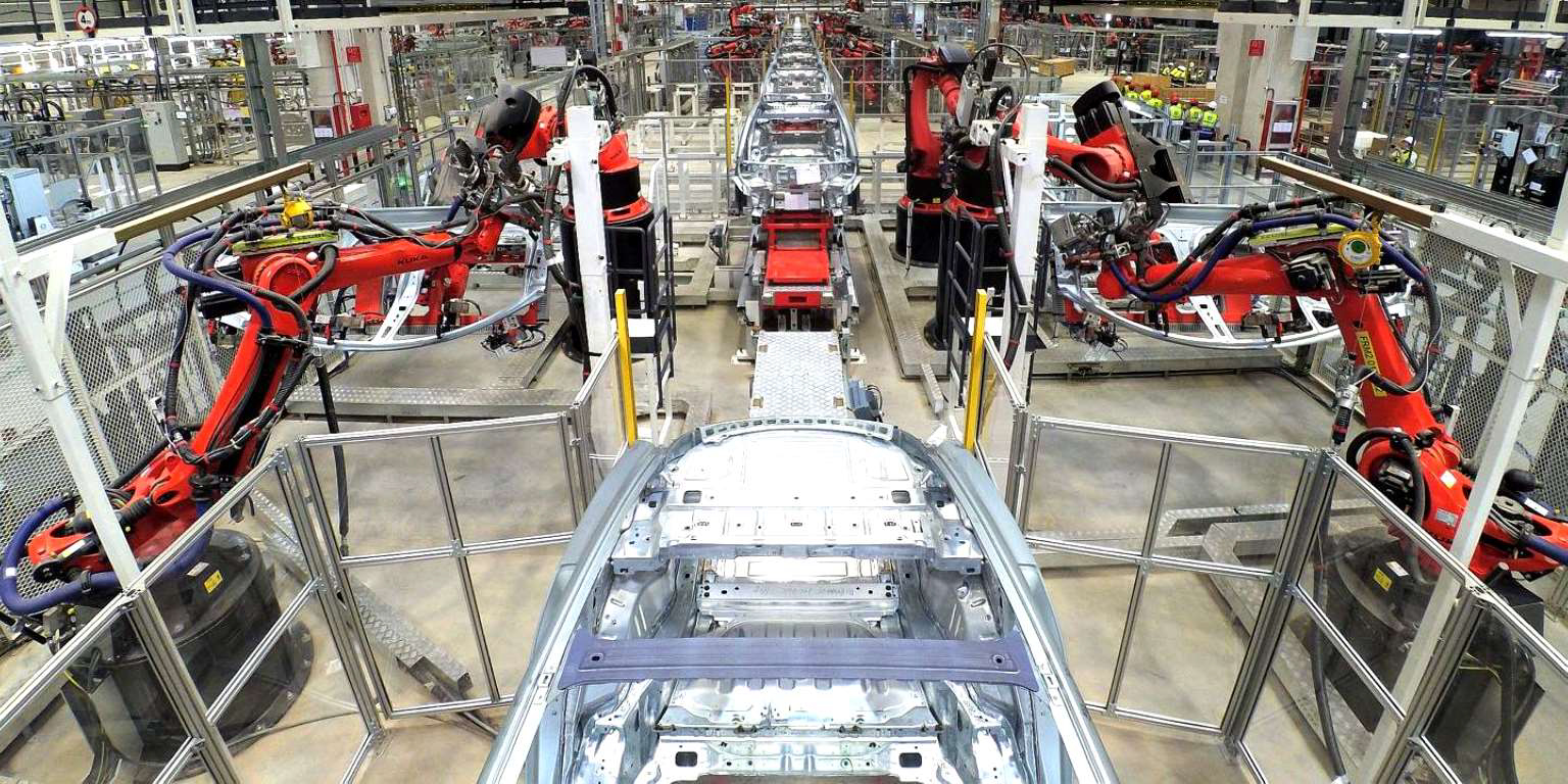 Gigafactory 3 Q3 2019 (Tesla) body shop 2