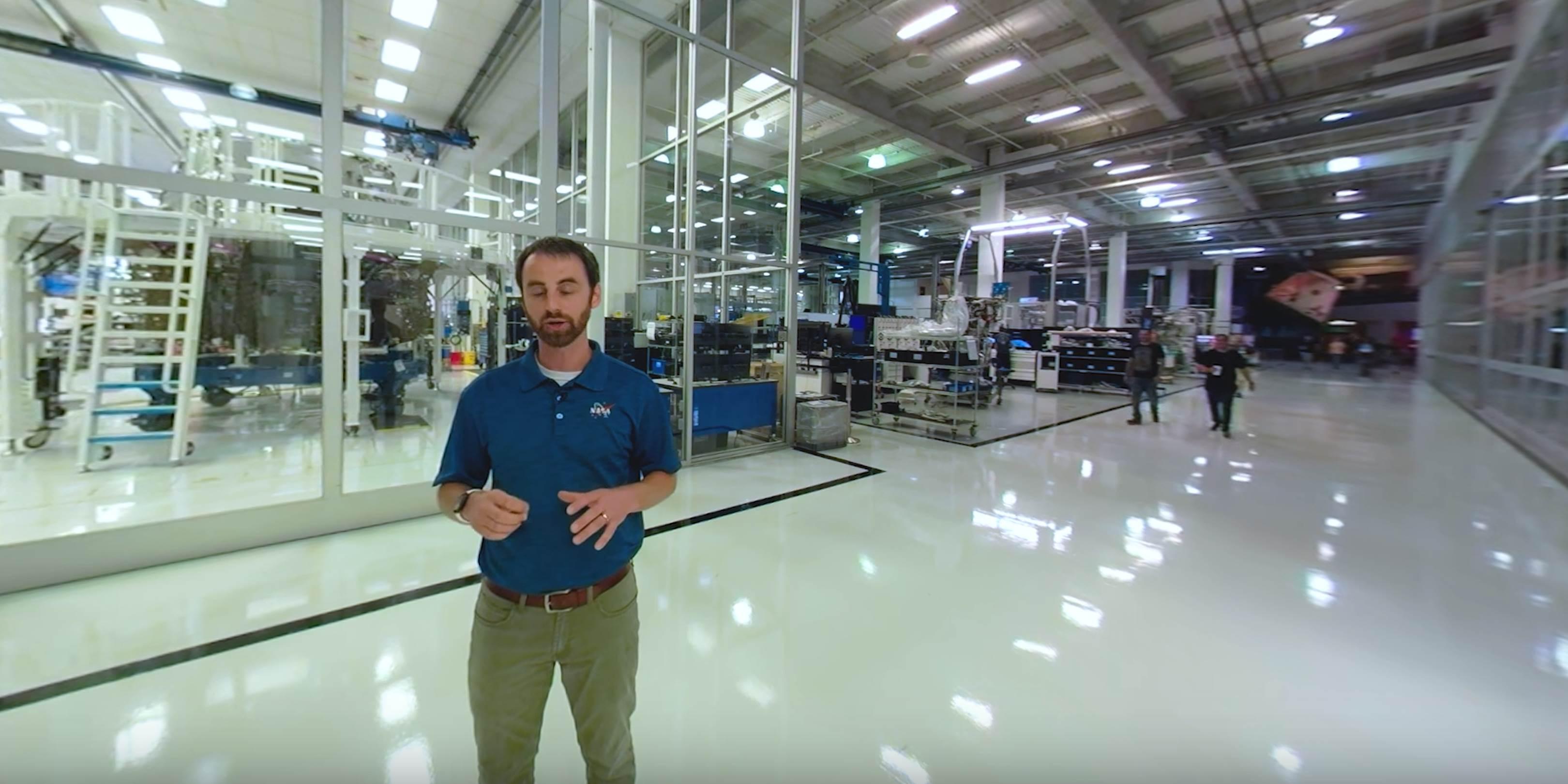 Hawthorne tour 2019 (NASA) factory floor dragon production 1