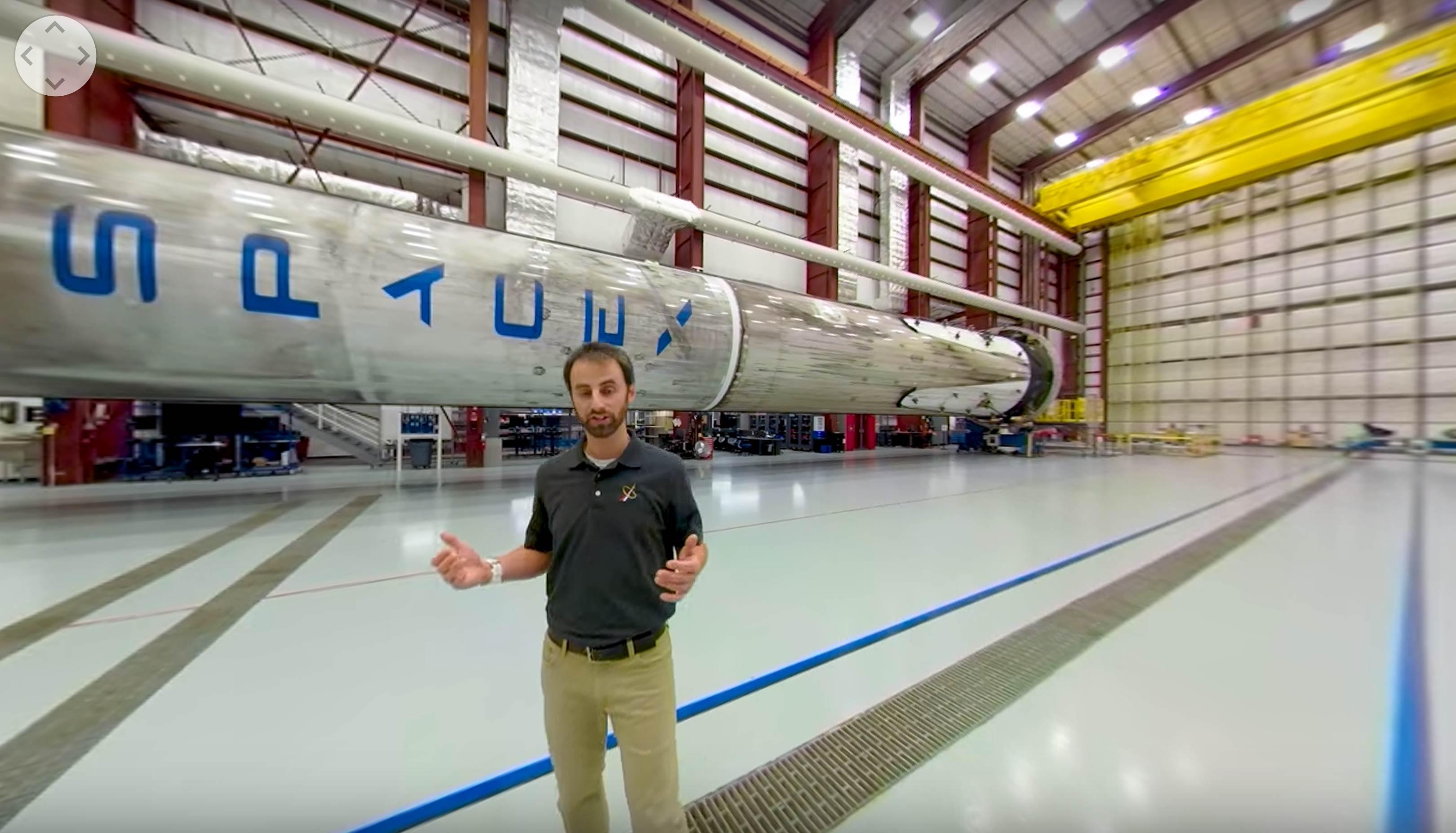 LC-39A tour 2019 (NASA) Falcon 9 1