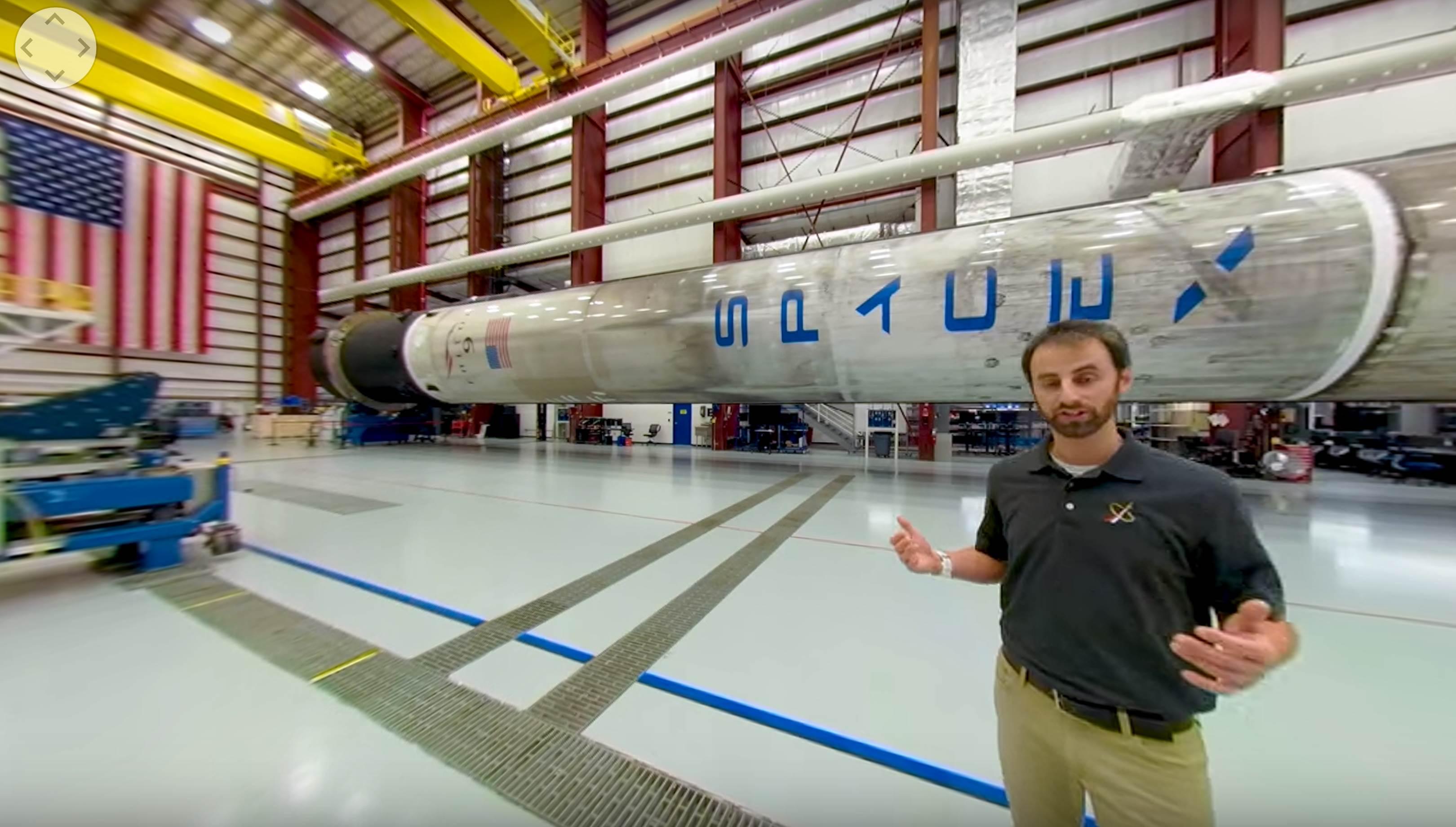 LC-39A tour 2019 (NASA) Falcon 9 2