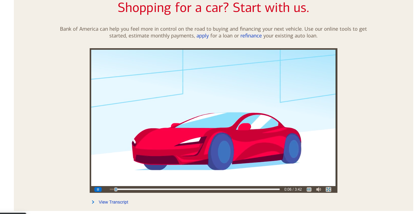 Tesla Roadster Referenced By Bank Of America For Car Loan Program