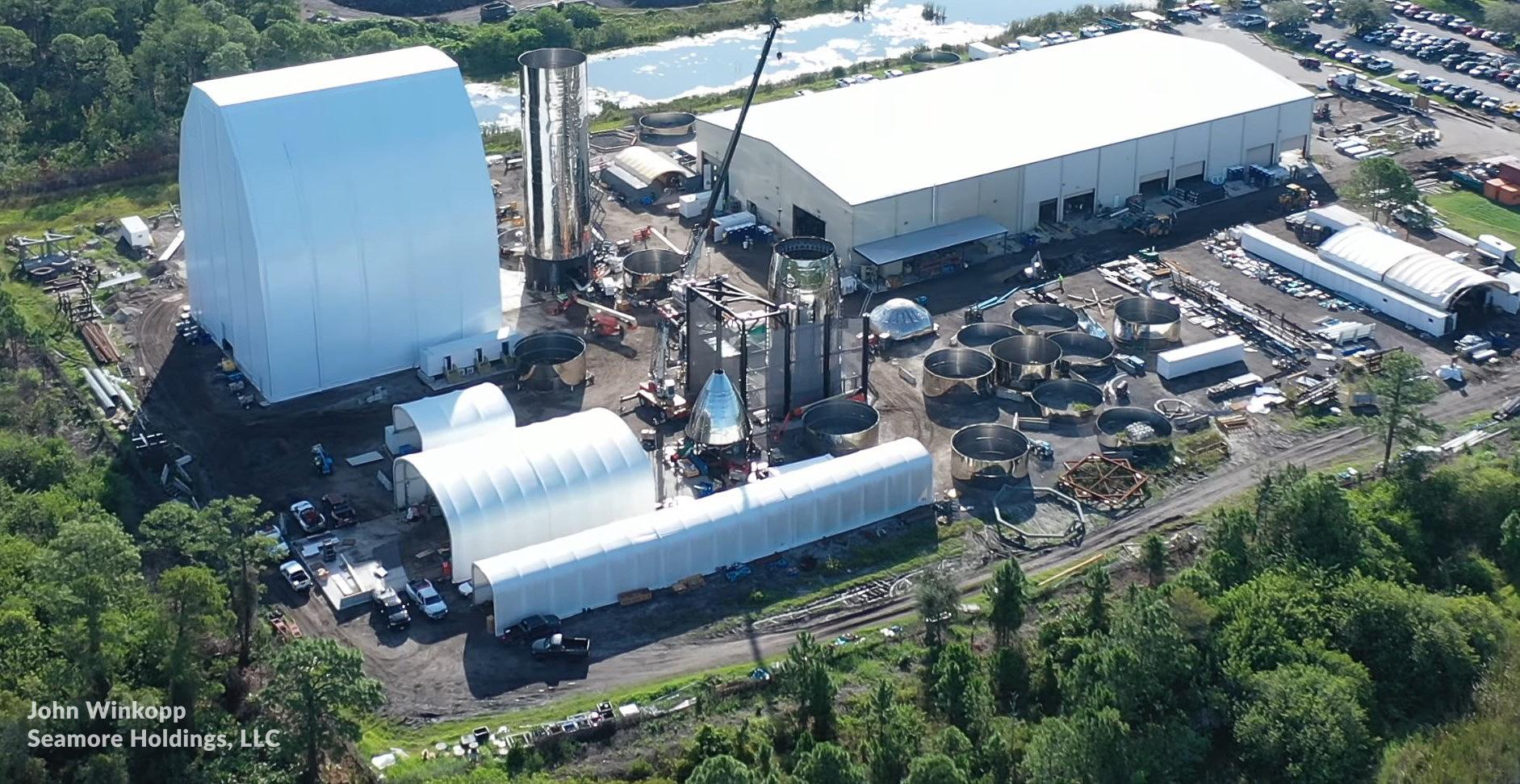 SpaceX scraps Florida Starship Mk2 prototype